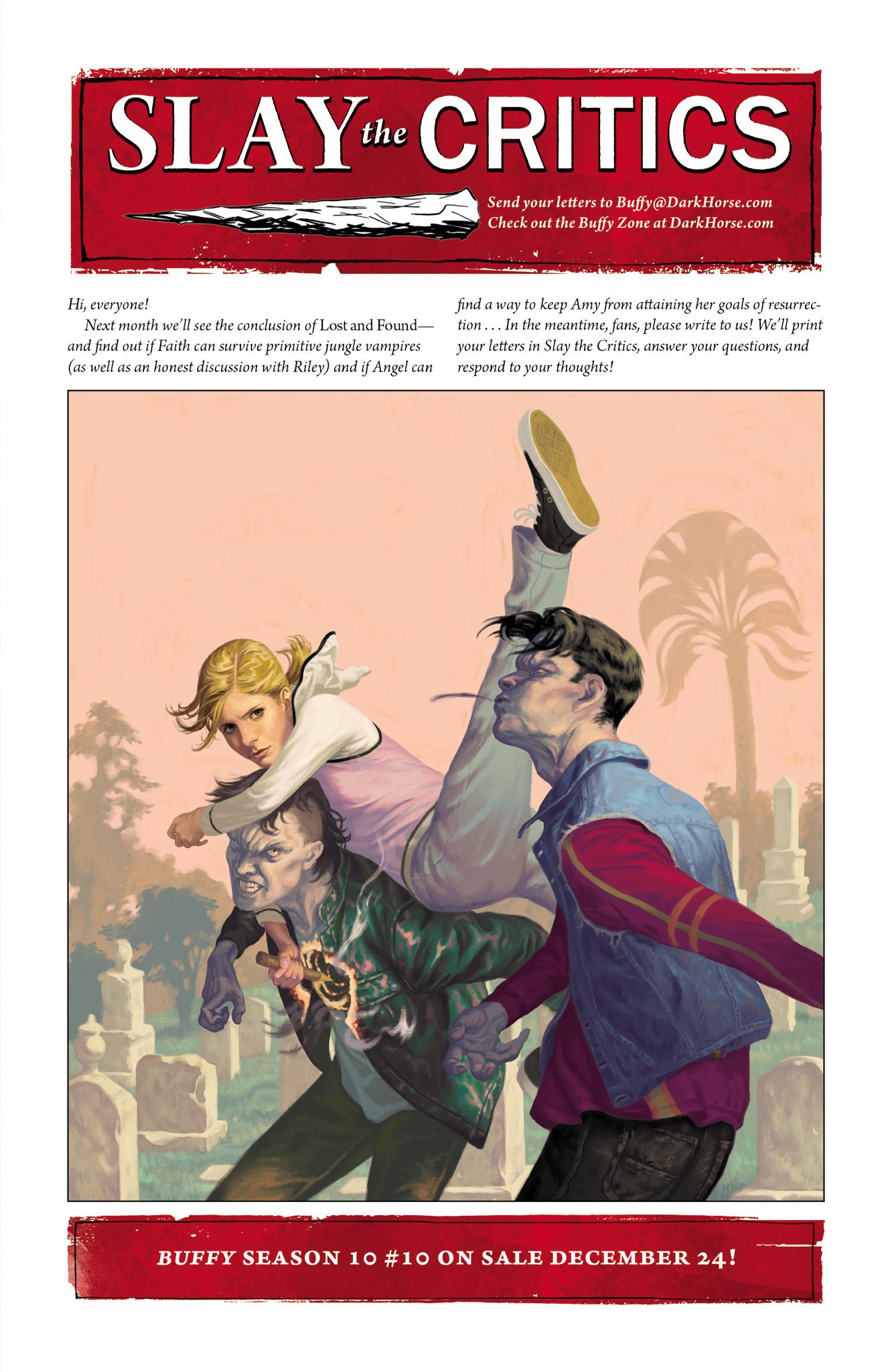 Read online Angel & Faith Season 10 comic -  Issue #9 - 25