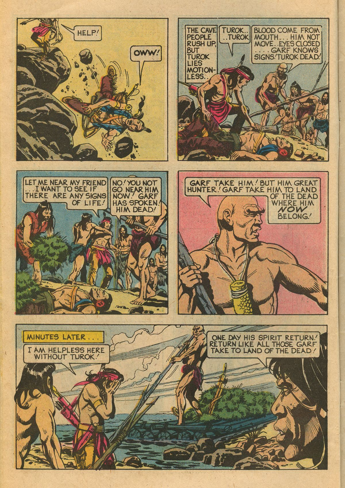 Read online Turok, Son of Stone comic -  Issue #111 - 10