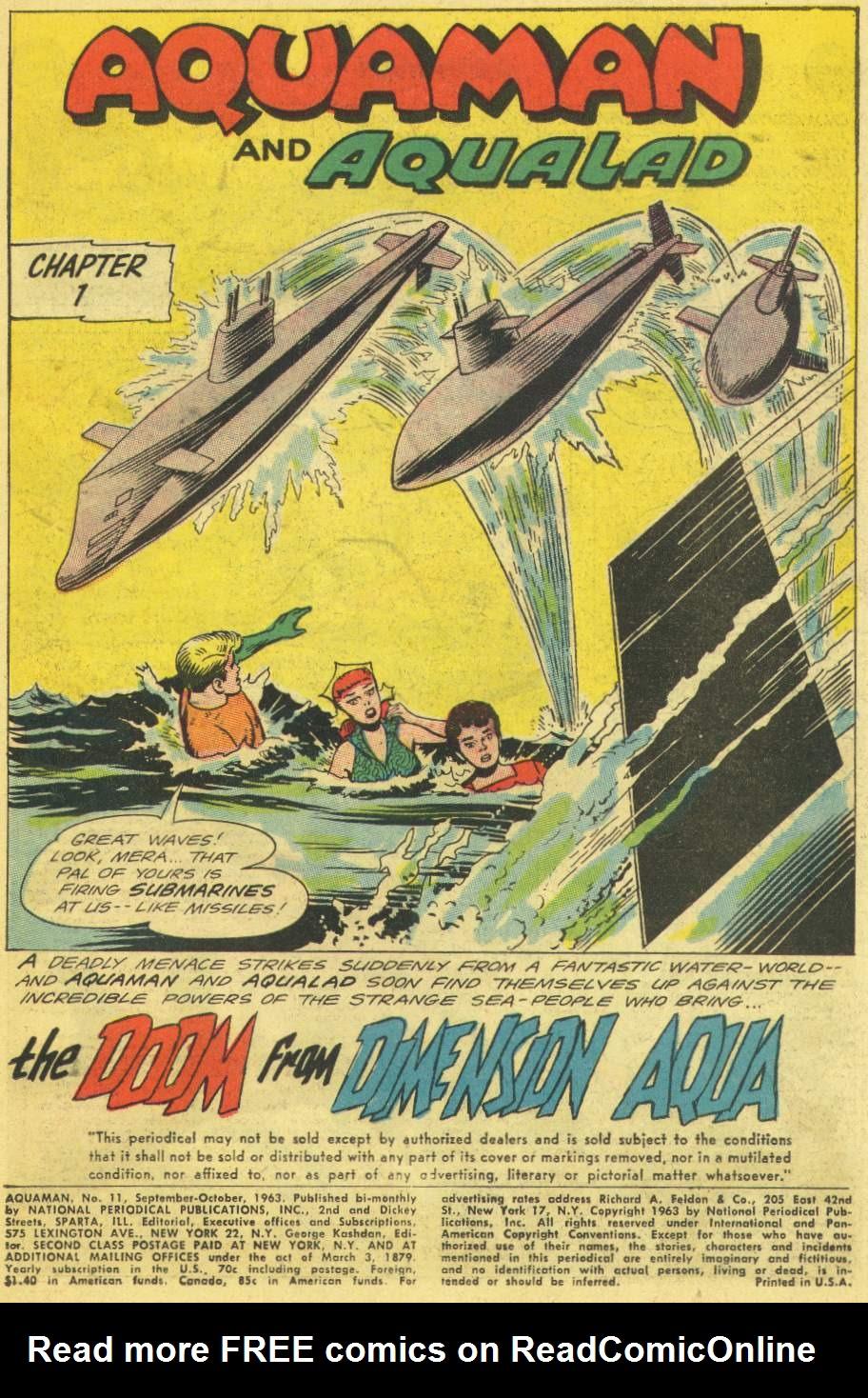 Read online Aquaman (1962) comic -  Issue #11 - 3