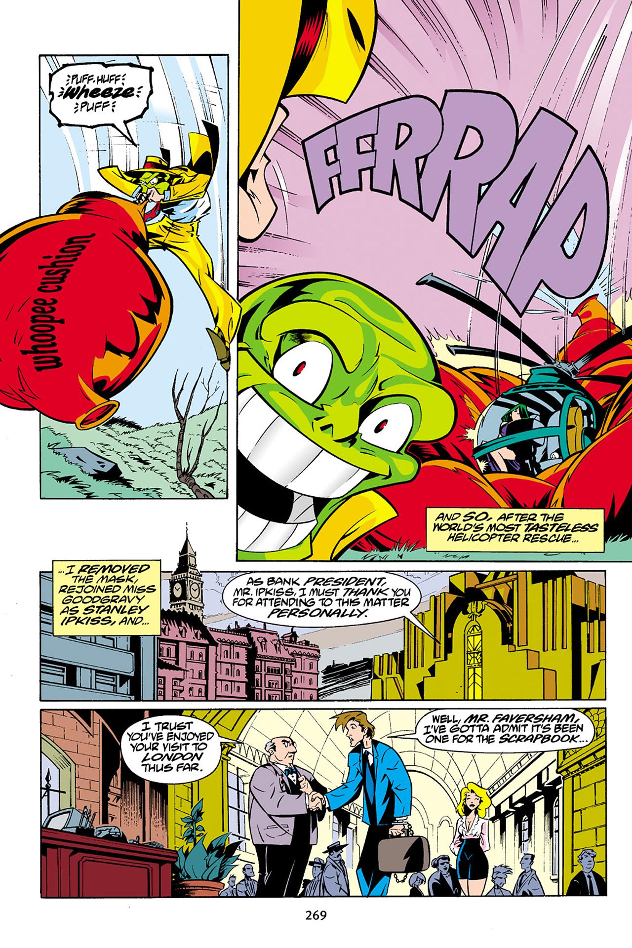 Read online Adventures Of The Mask Omnibus comic -  Issue #Adventures Of The Mask Omnibus Full - 268