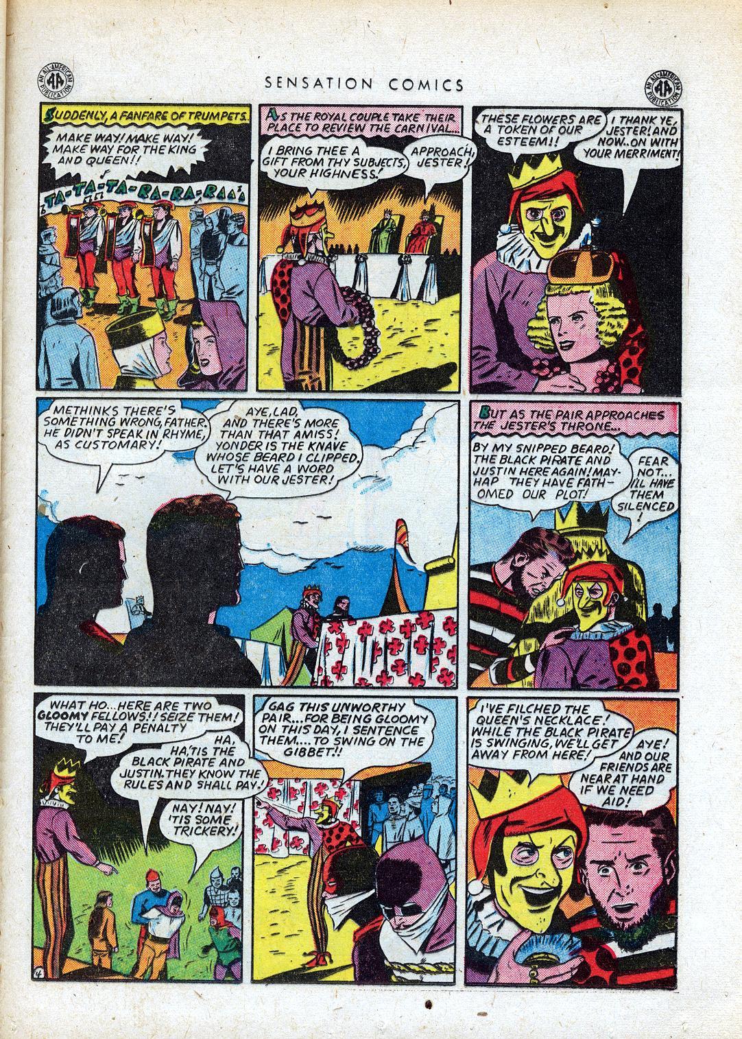 Read online Sensation (Mystery) Comics comic -  Issue #41 - 37