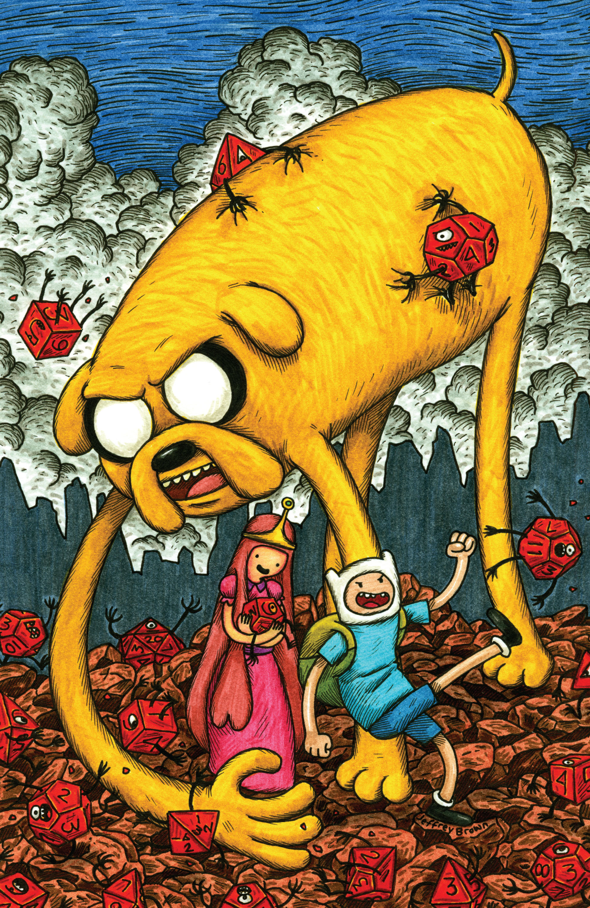 Read online Adventure Time comic -  Issue #1 - 4