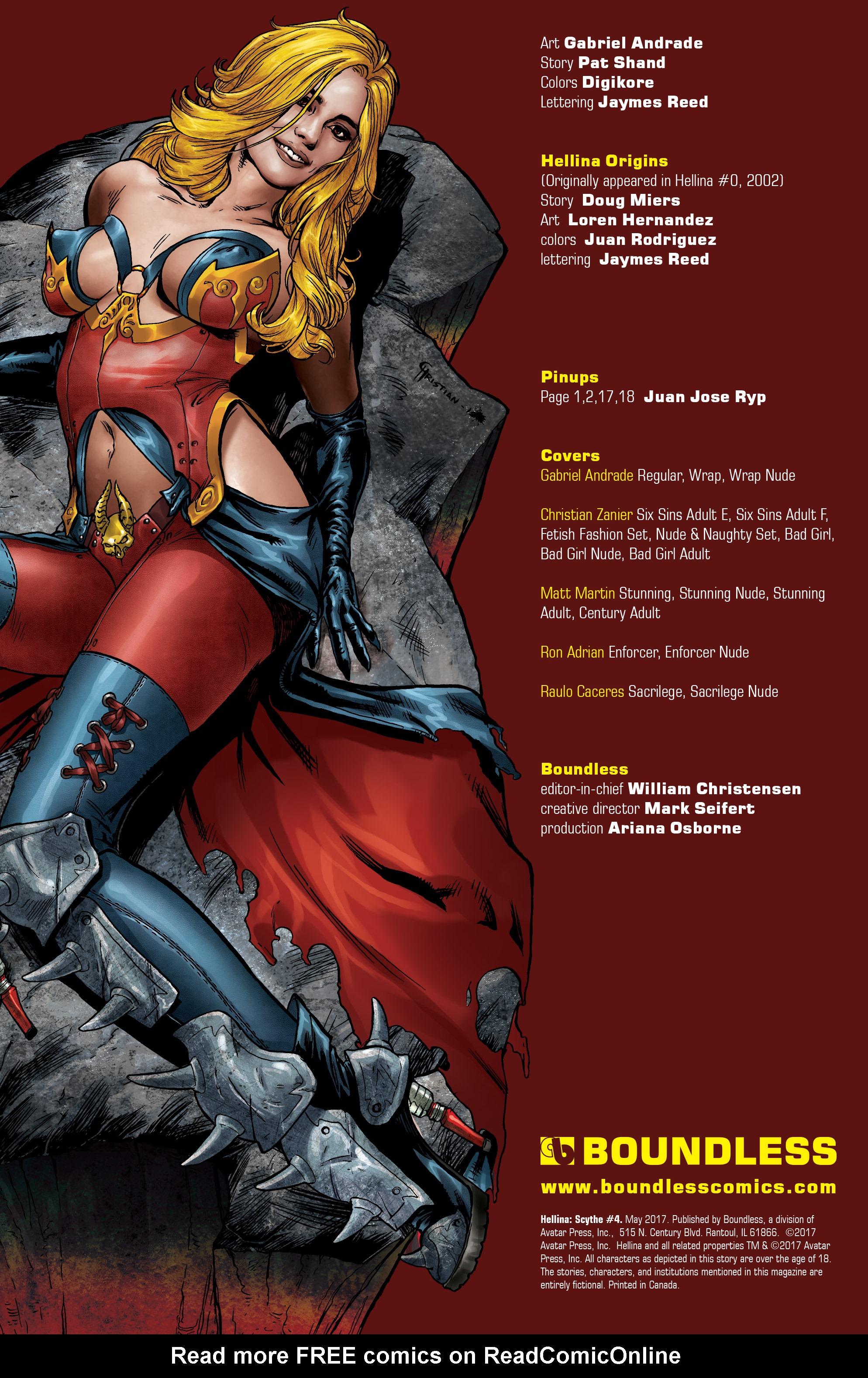 Read online Hellina: Scythe comic -  Issue #4 - 2