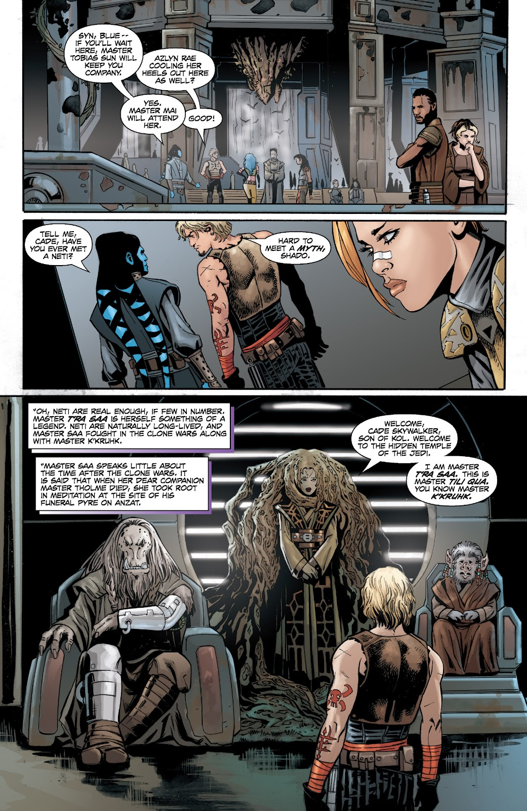 Read online Star Wars Legends: Legacy - Epic Collection comic -  Issue # TPB 2 (Part 2) - 61