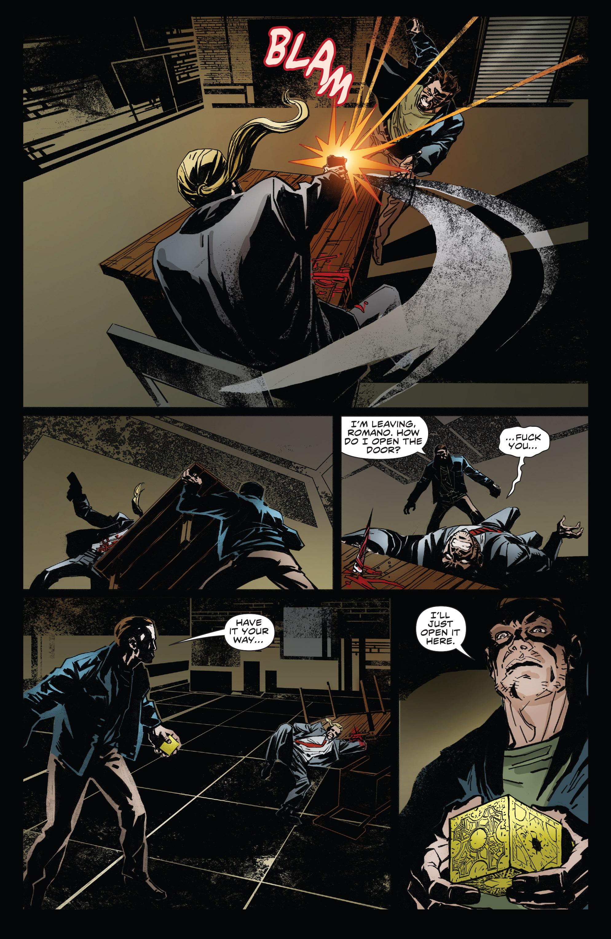 Read online Clive Barker's Hellraiser: The Dark Watch comic -  Issue # TPB 3 - 20