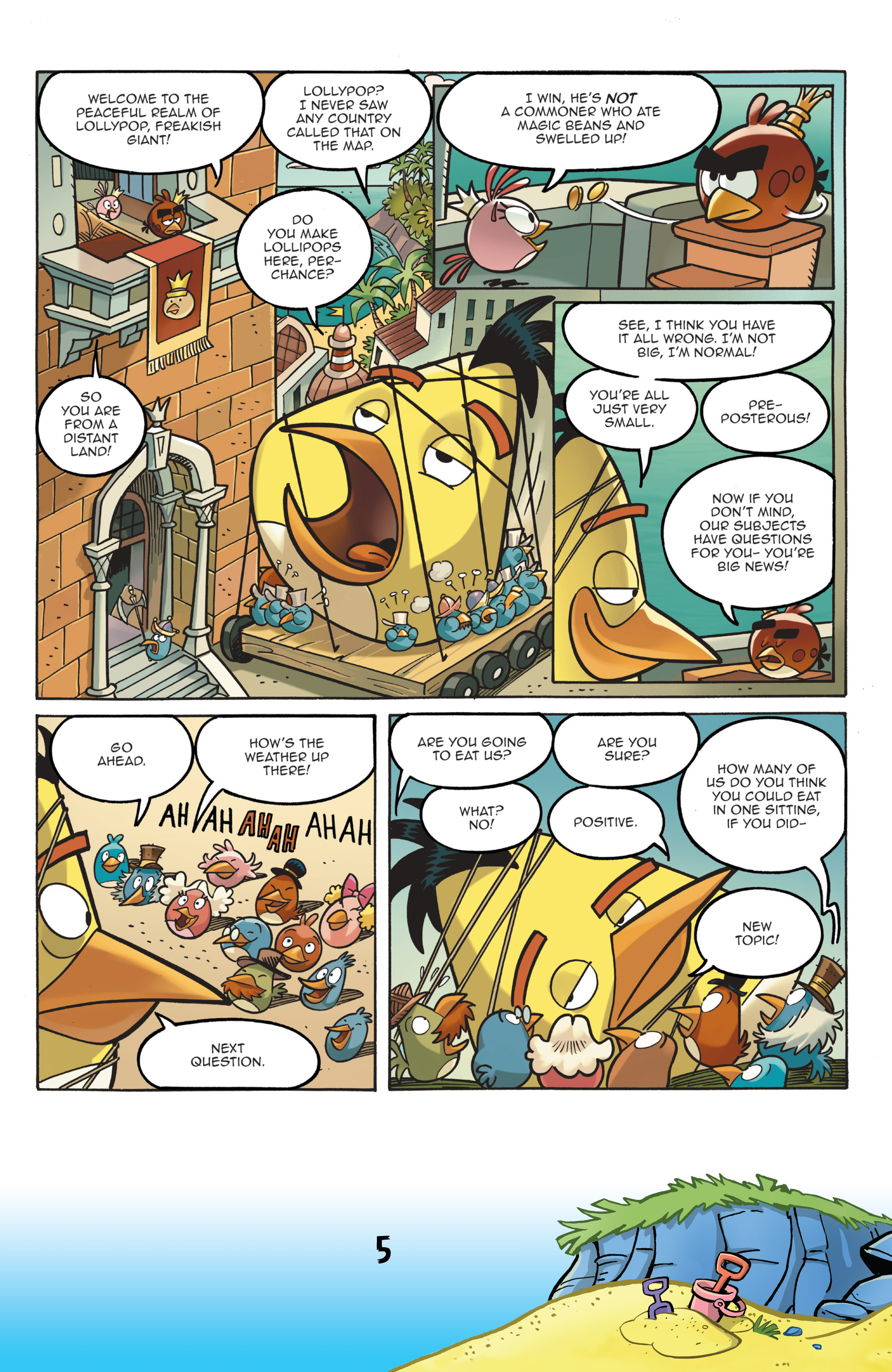 Read online Angry Birds Comics (2016) comic -  Issue #7 - 7