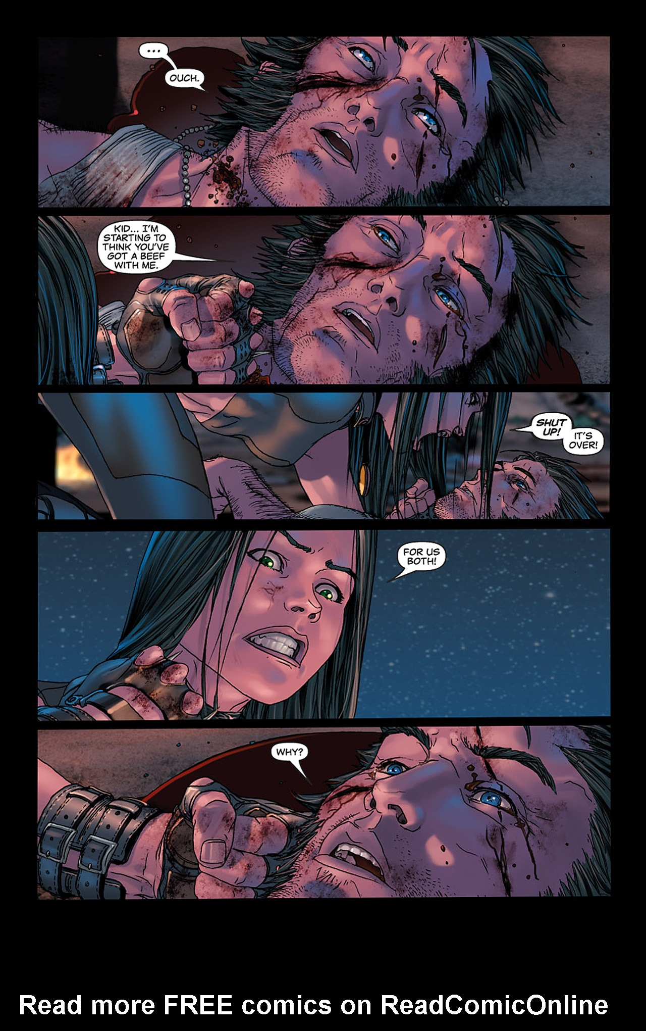 Read online X-23: Target X comic -  Issue #6 - 13
