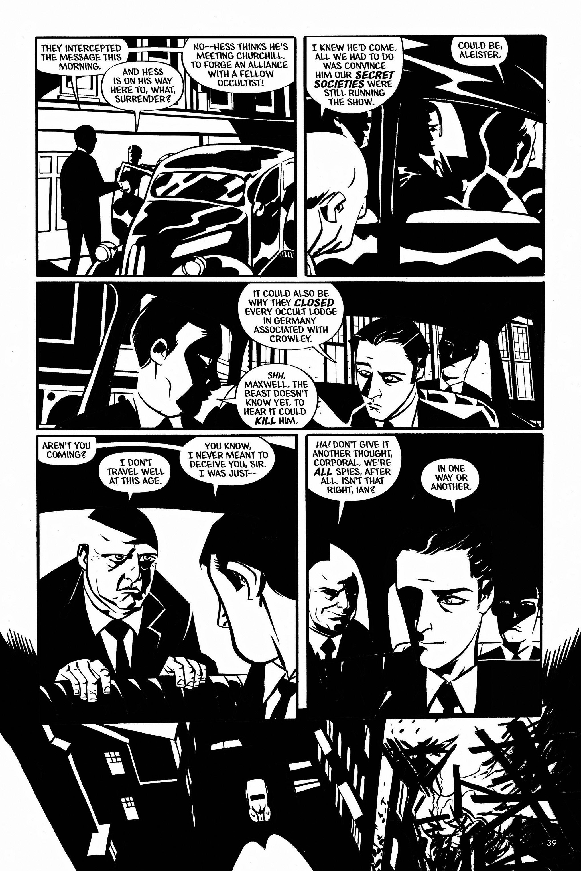 Read online Aleister & Adolf comic -  Issue # TPB - 38
