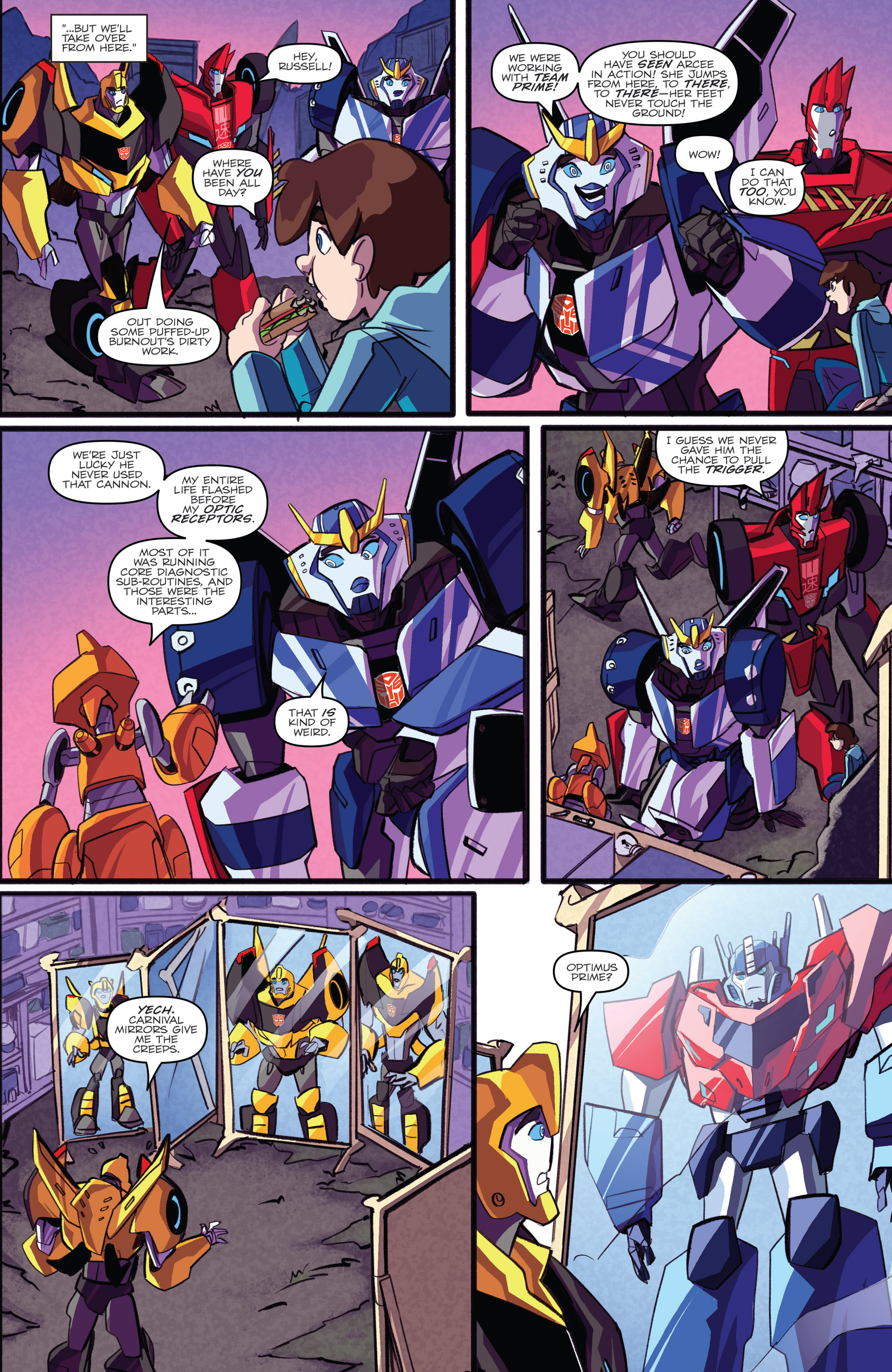 Read online Transformers: Robots In Disguise (2015) comic -  Issue #2 - 23