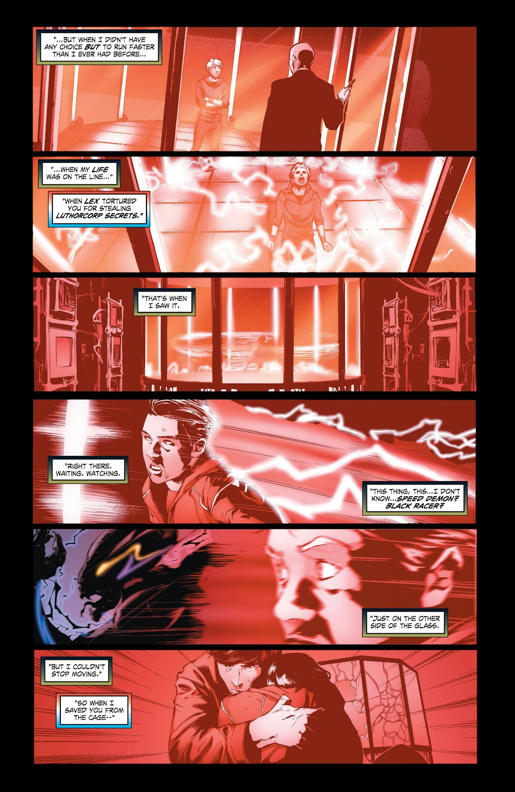 Read online Smallville Season 11 [II] comic -  Issue # TPB 3 - 43