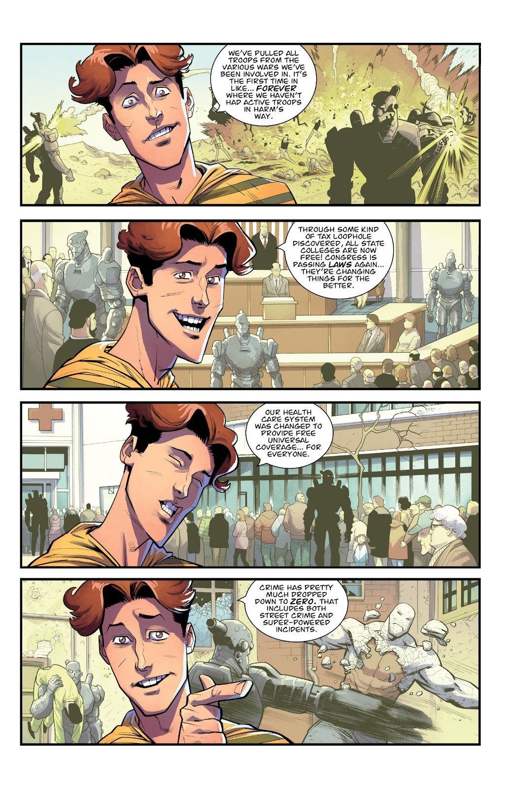 Invincible (2003) issue TPB 21 - Modern Family - Page 25