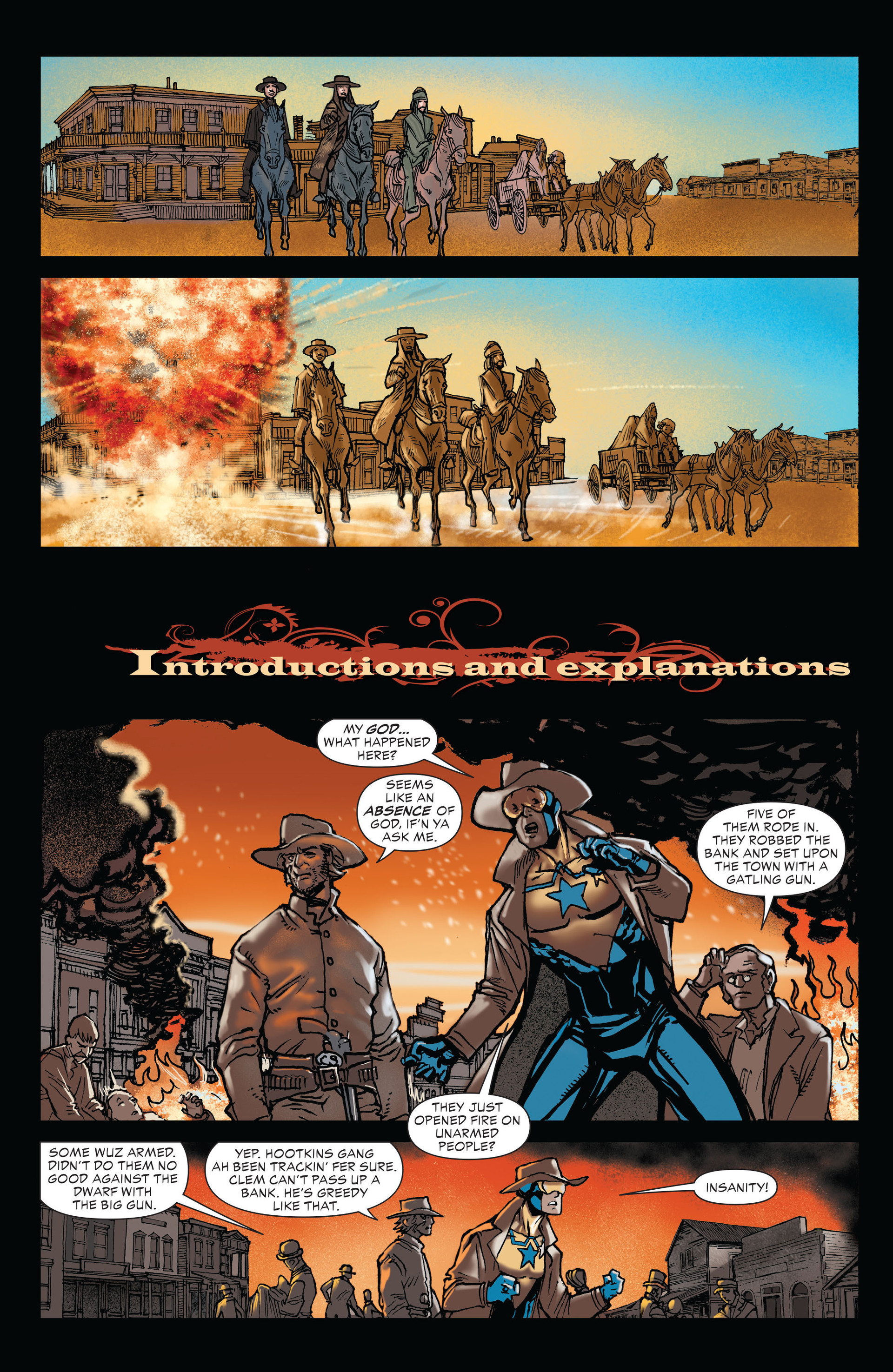 Read online All-Star Western (2011) comic -  Issue #19 - 11