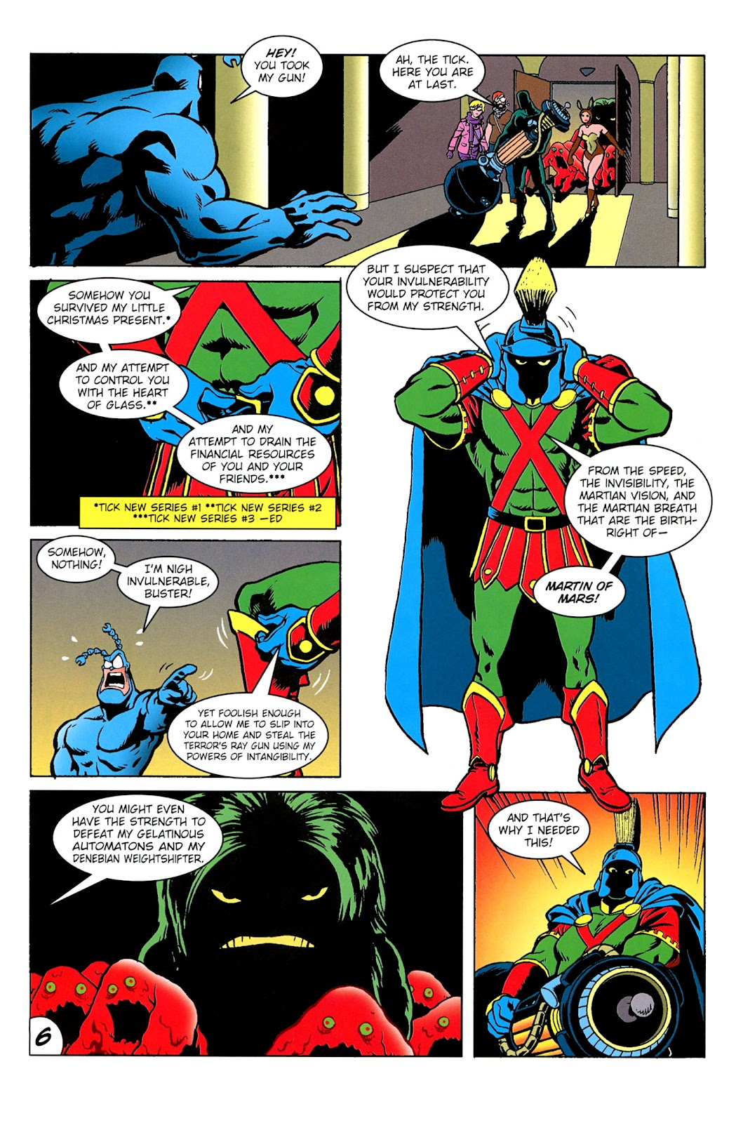 Read online The Tick comic -  Issue #100 - 8