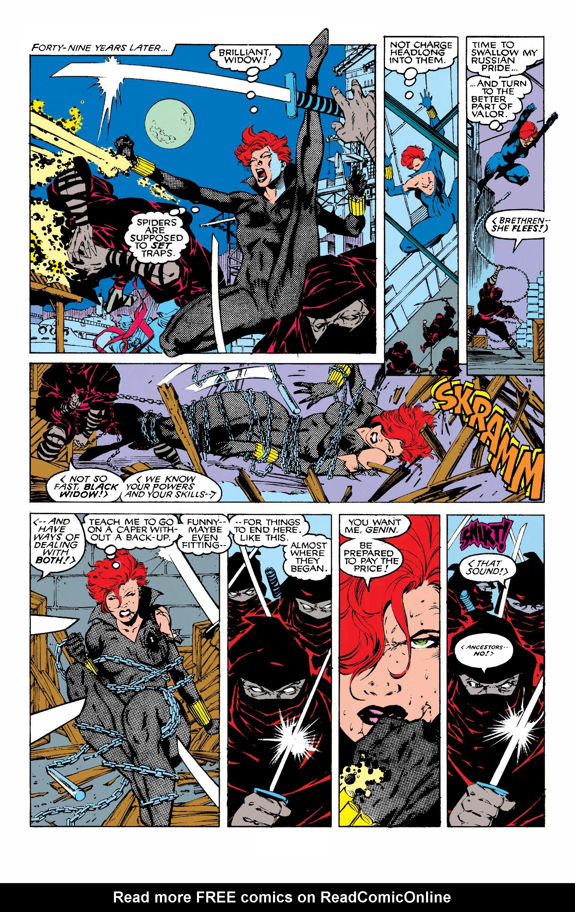 Read online Uncanny X-Men (1963) comic -  Issue #268 - 6