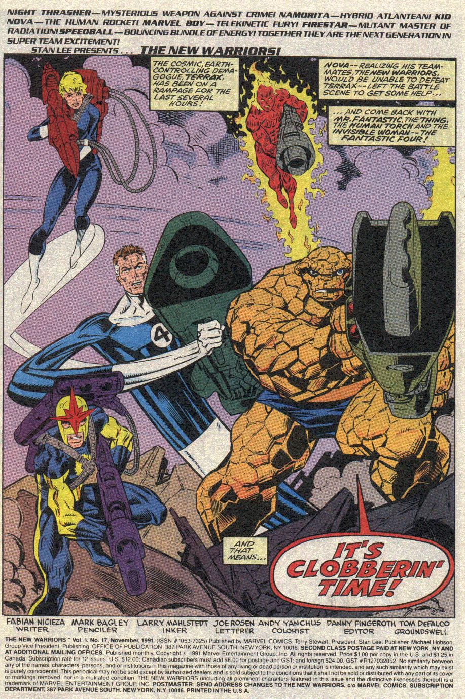 The New Warriors Issue #17 #21 - English 2
