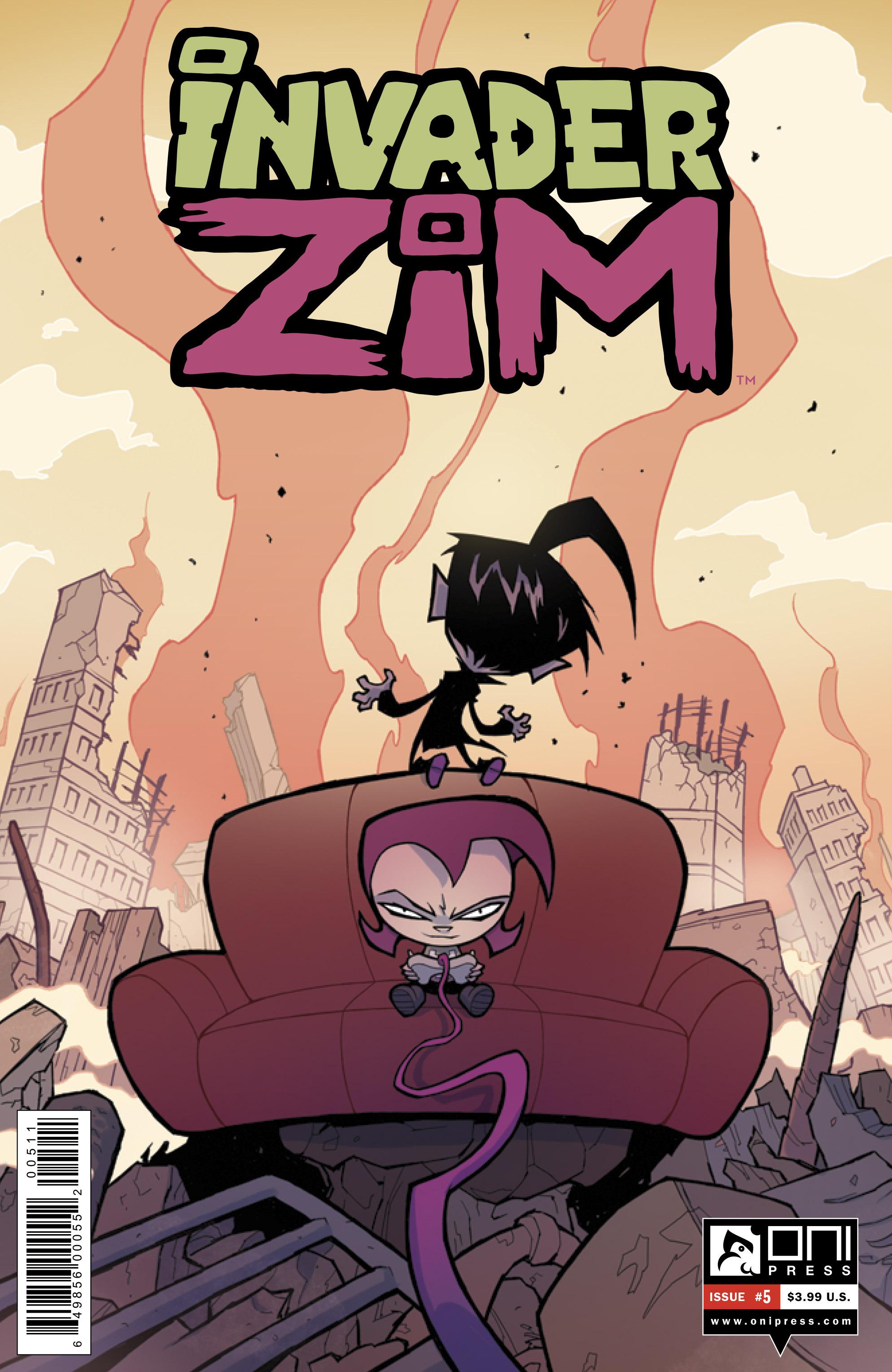 Invader Zim 5 Page 1