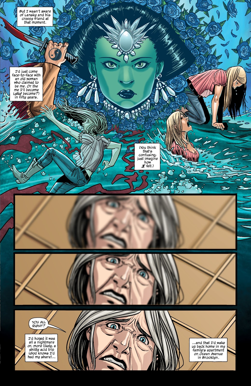 Read online The Girl In The Bay comic -  Issue #2 - 5
