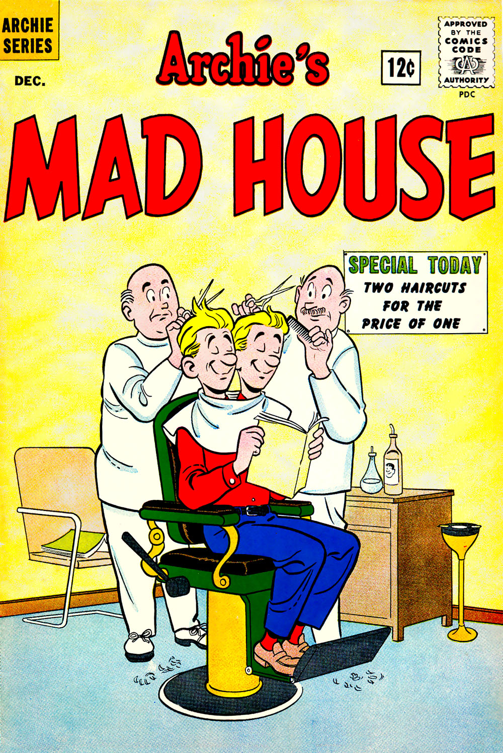 Archie's Madhouse issue 23 - Page 1