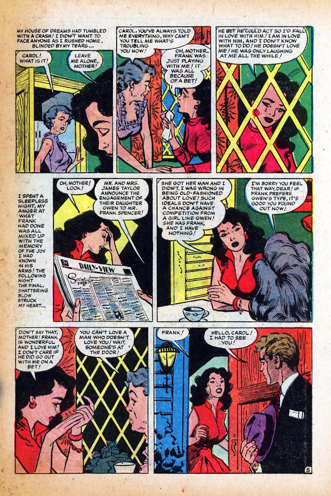 Love Romances (1949) issue 47 - Page 31