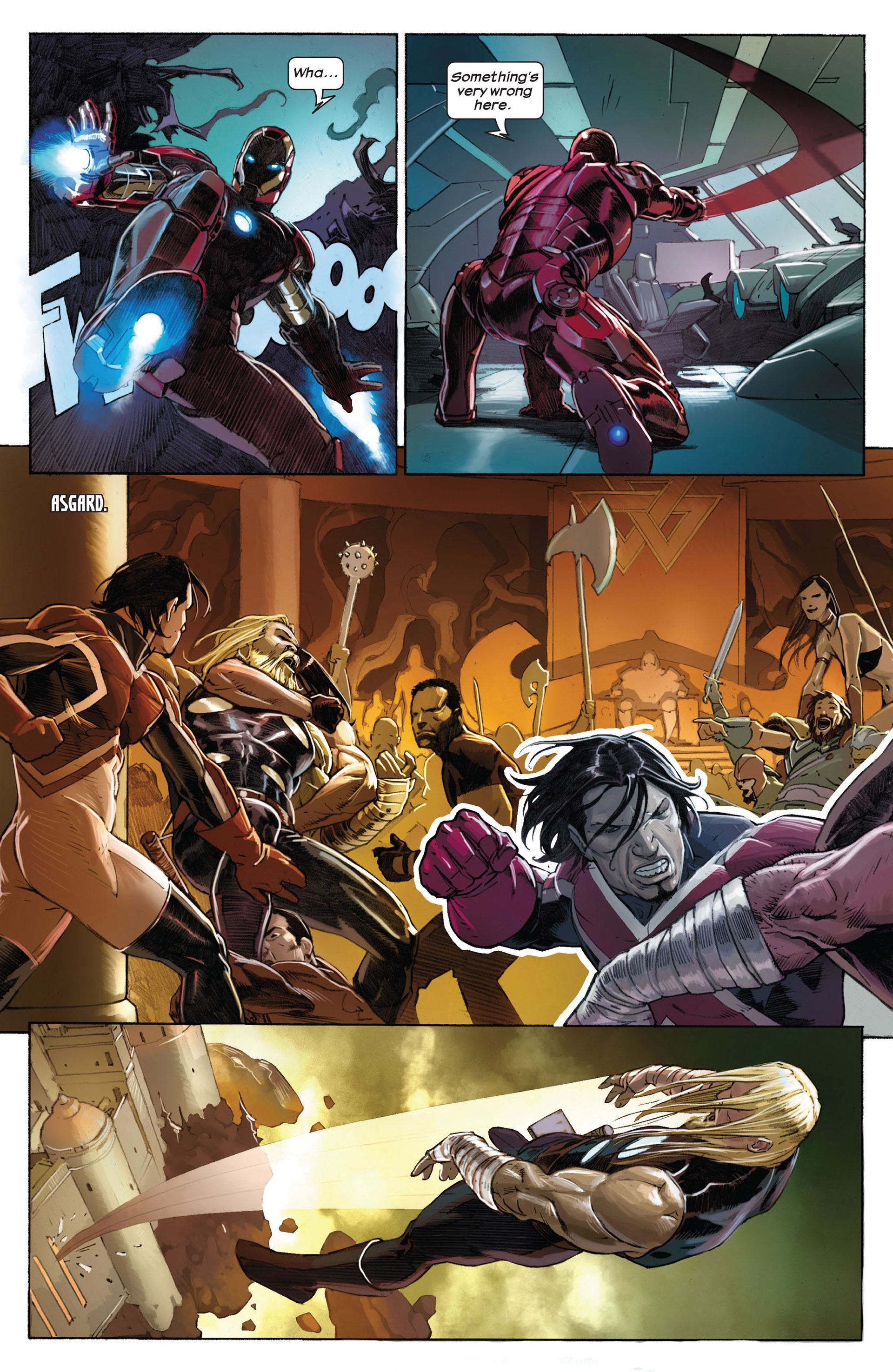 Read online Ultimate Comics Ultimates comic -  Issue #1 - 14