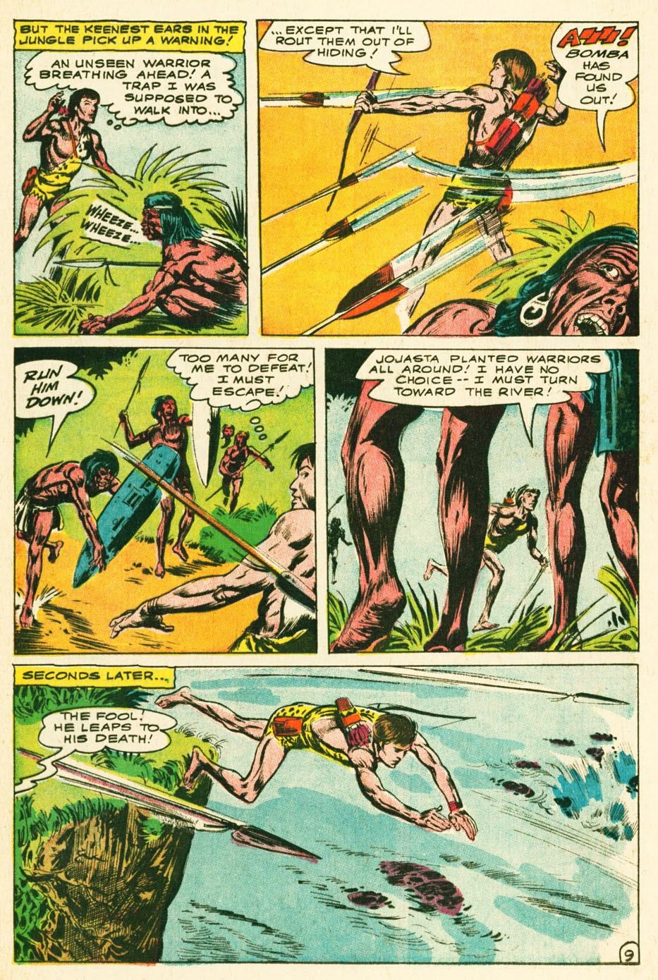 Bomba, The Jungle Boy issue 1 - Page 10