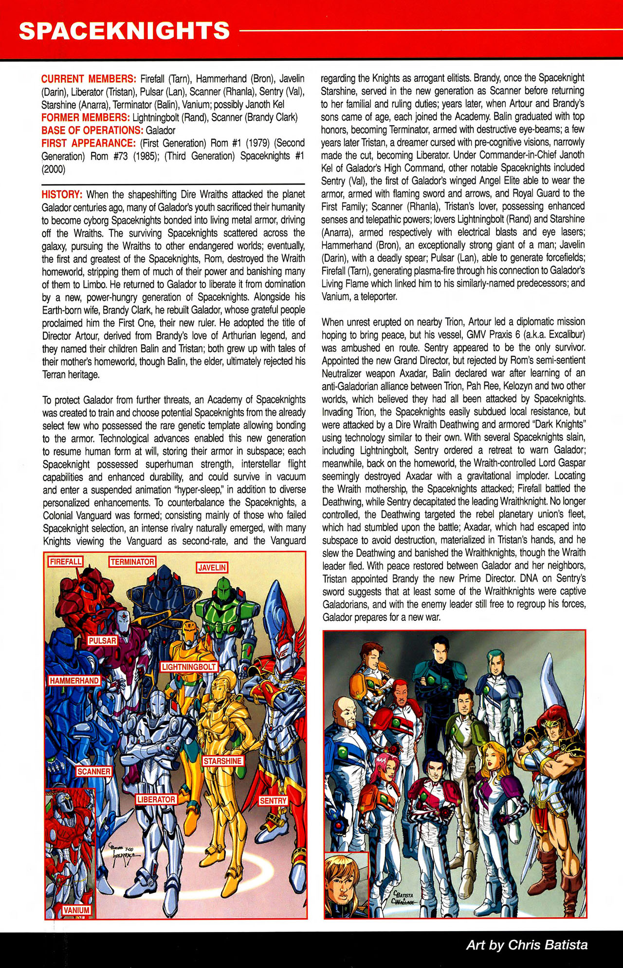 Read online All-New Official Handbook of the Marvel Universe A to Z comic -  Issue #10 - 32