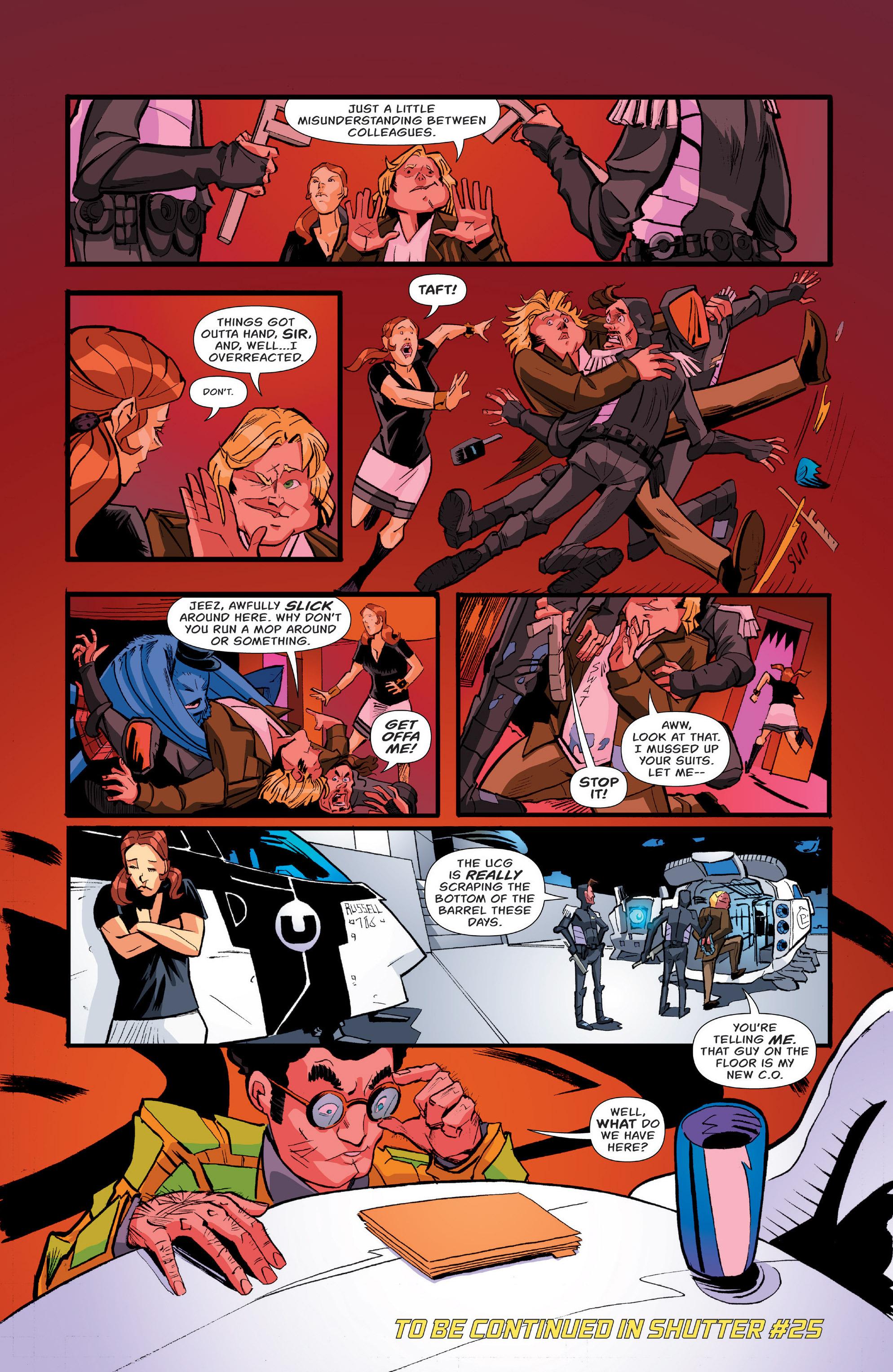 Read online Shutter comic -  Issue #24 - 29