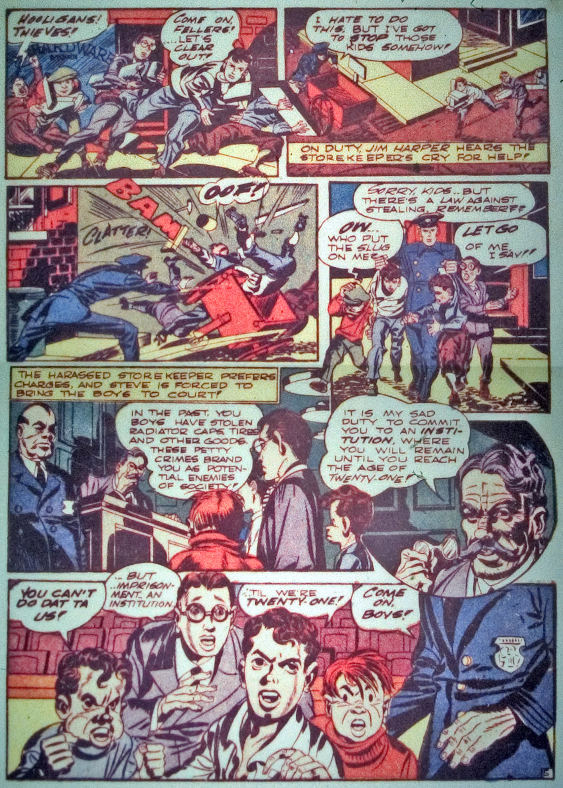 Star Spangled Comics (1941) issue 7 - Page 7