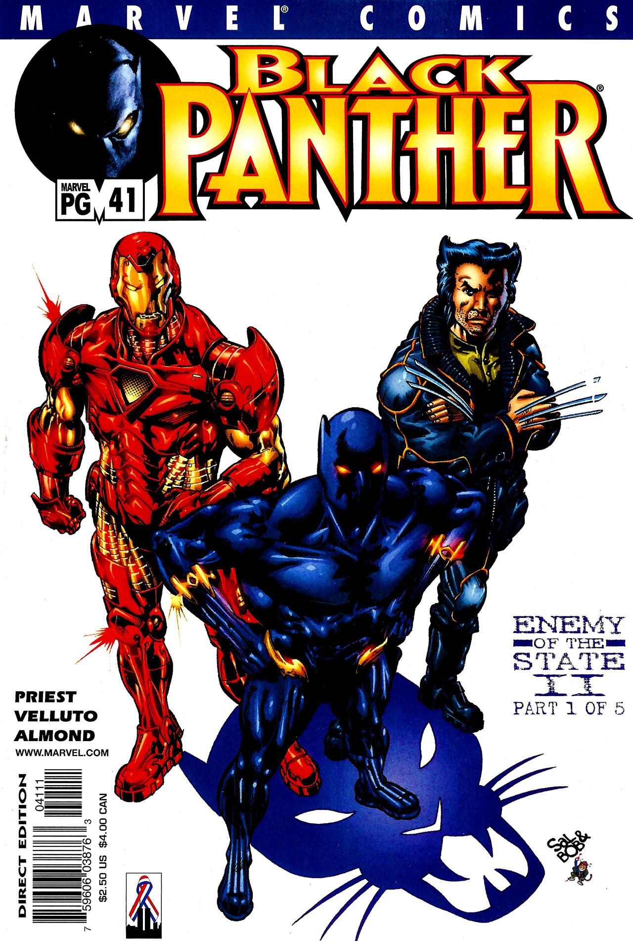 Black Panther (1998) 41 Page 1