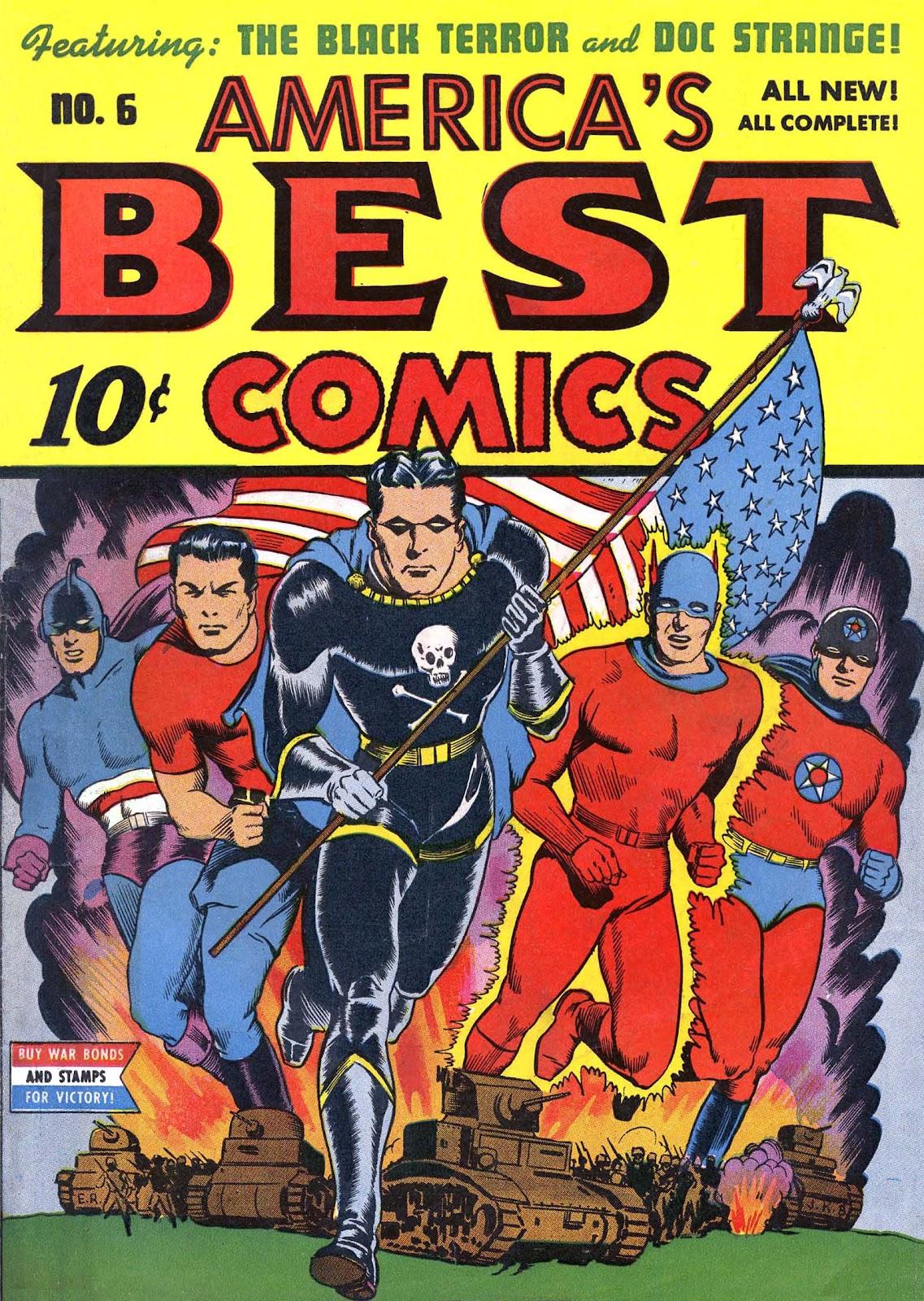 Americas Best Comics 6 Page 1