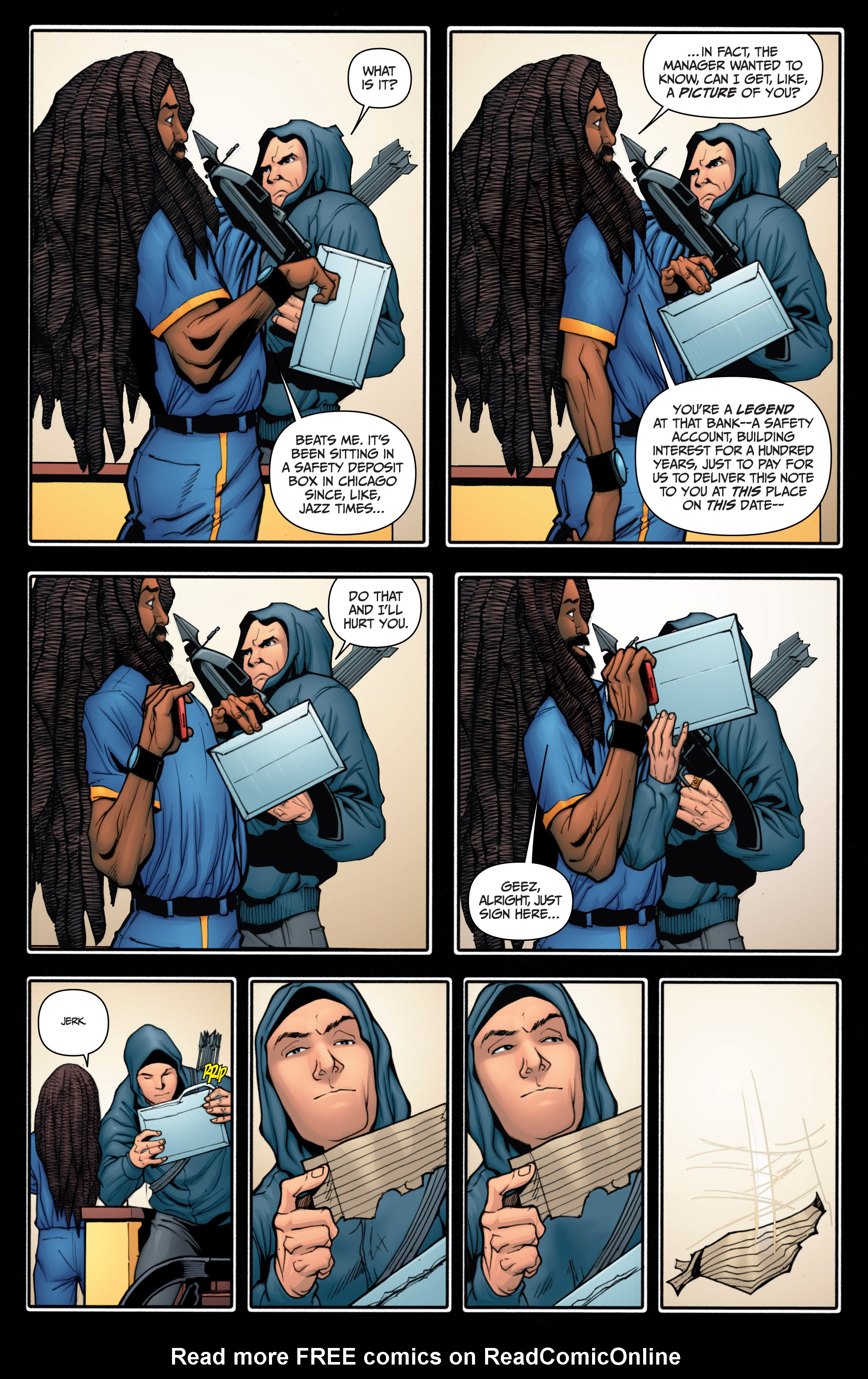 Read online Archer and Armstrong comic -  Issue #Archer and Armstrong _TPB 4 - 52