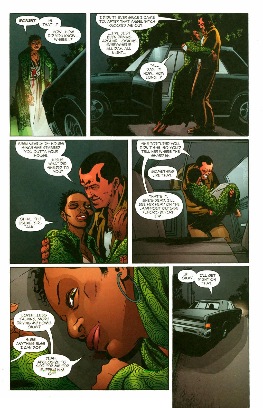 Read online Fallen Angel (2003) comic -  Issue #10 - 4