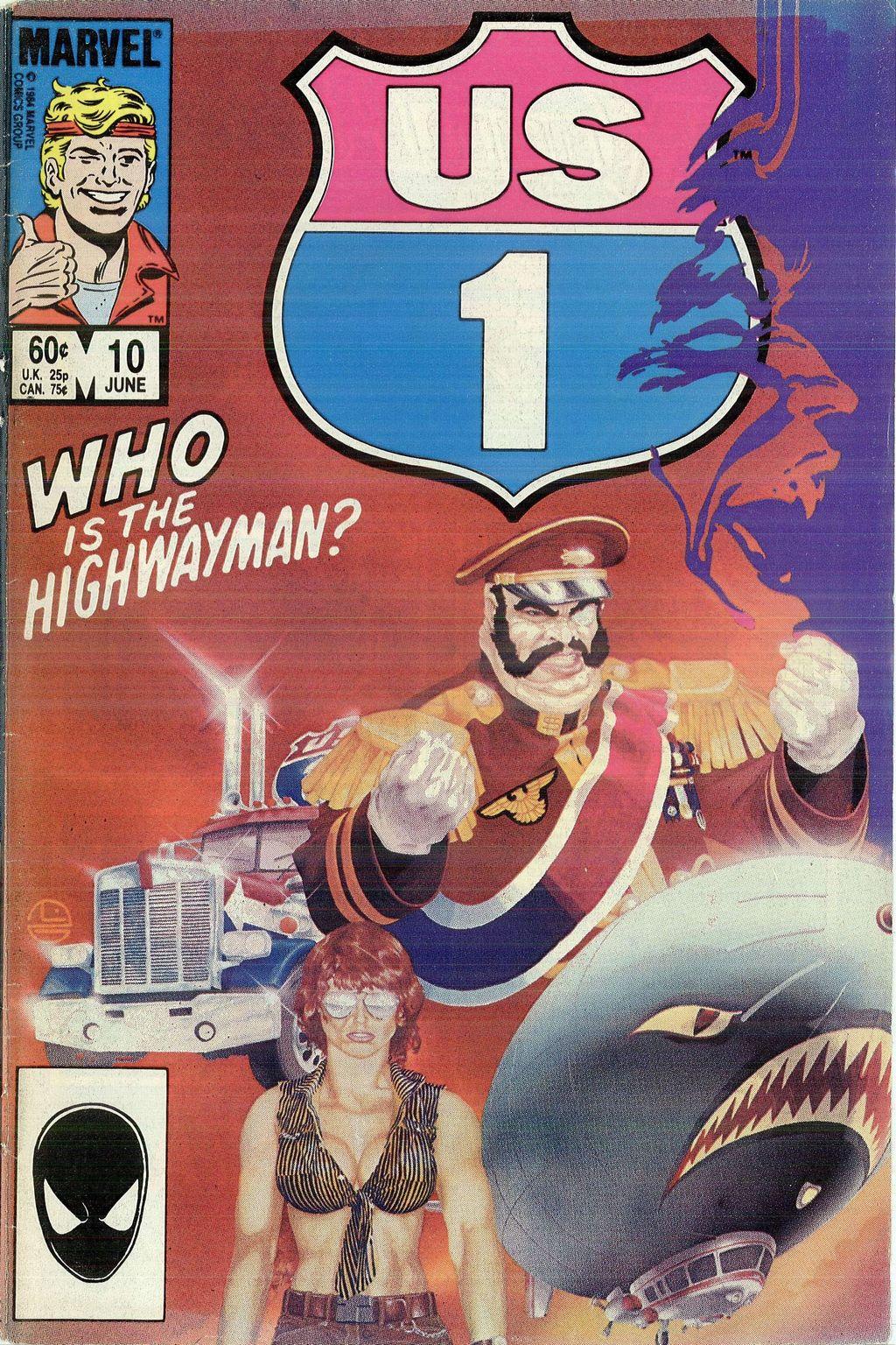 Read online U.S. 1 comic -  Issue #10 - 1