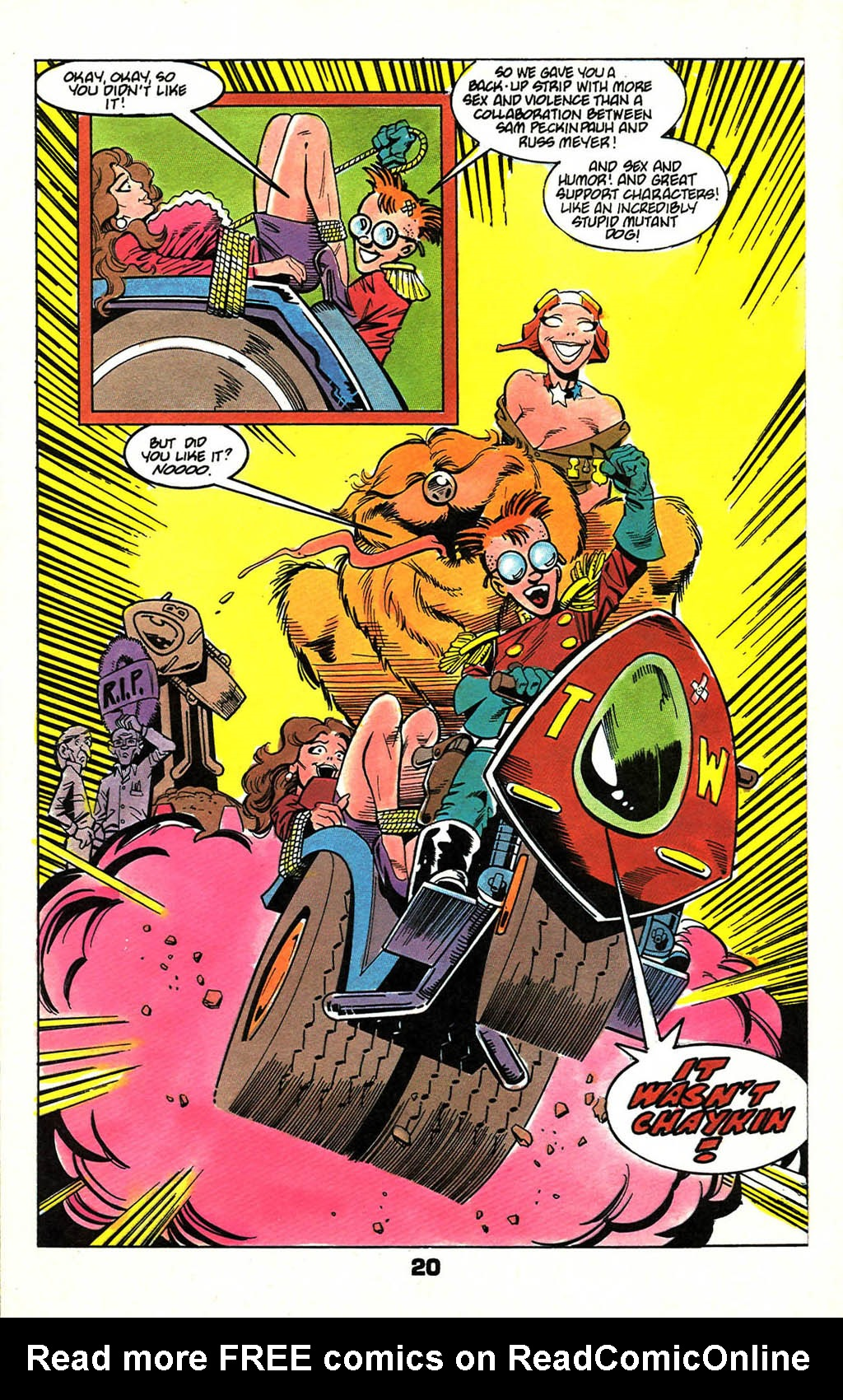 Read online American Flagg! comic -  Issue #46 - 26