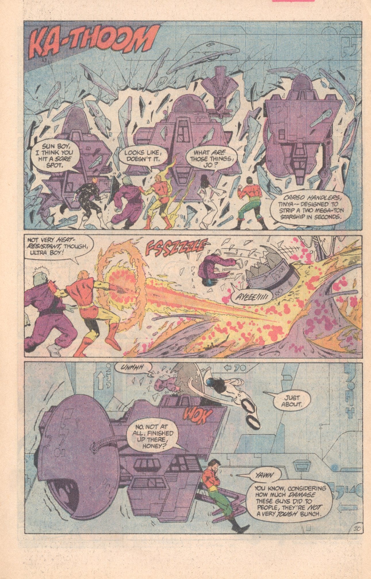 Legion of Super-Heroes (1980) 296 Page 20
