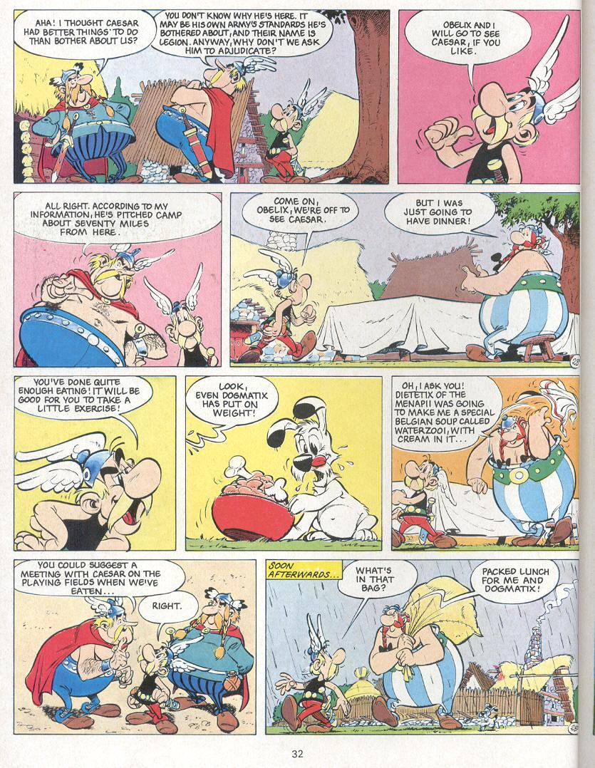 Read online Asterix comic -  Issue #24 - 29