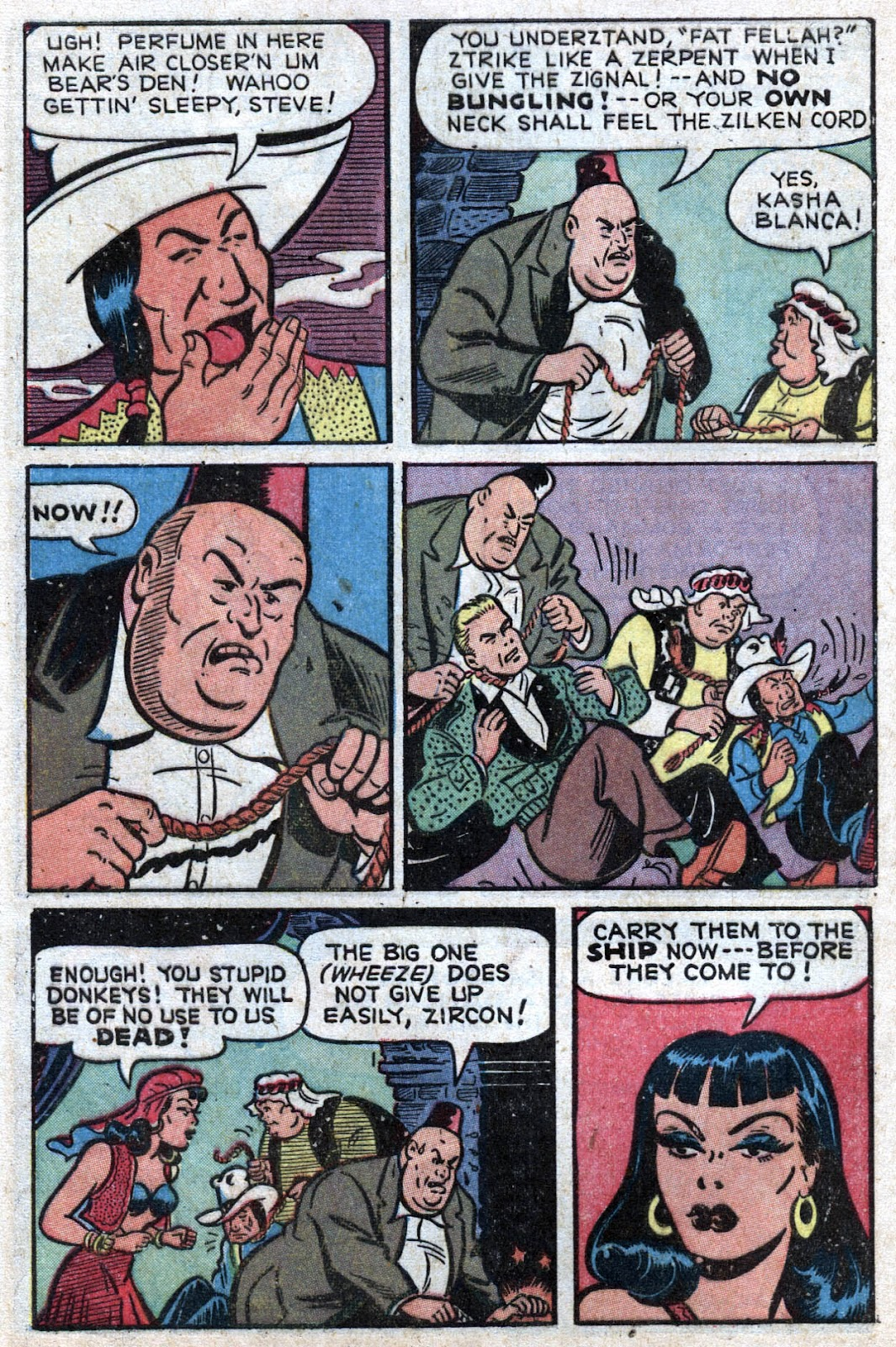 Read online Famous Funnies comic -  Issue #164 - 6