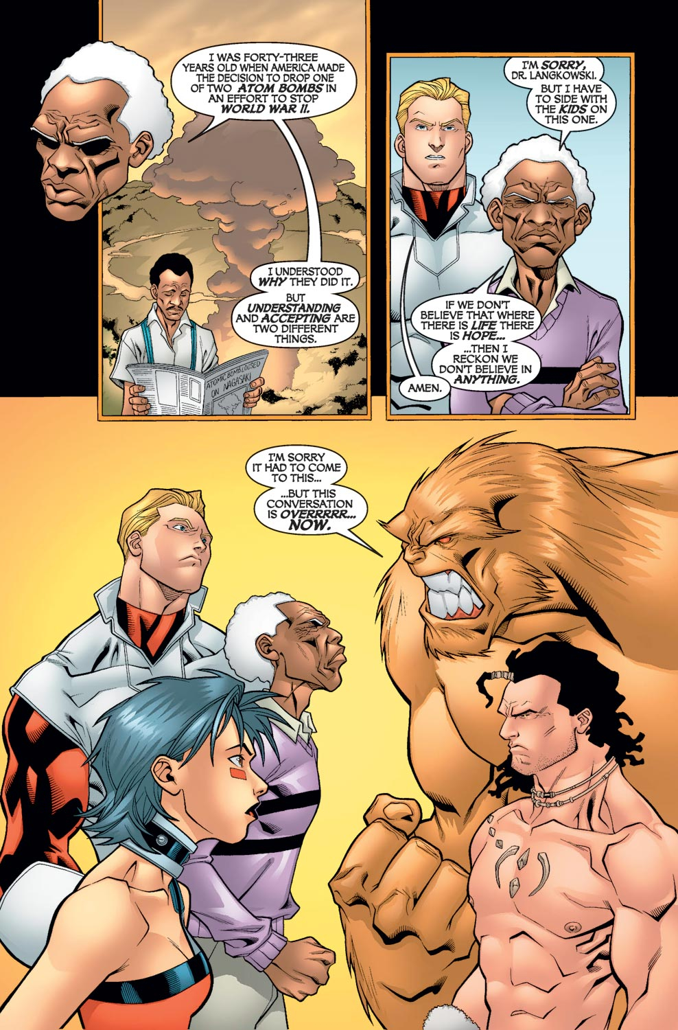 Read online Alpha Flight (2004) comic -  Issue #6 - 11