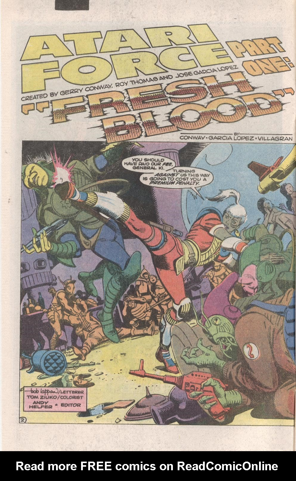 Read online Atari Force (1984) comic -  Issue #1 - 3