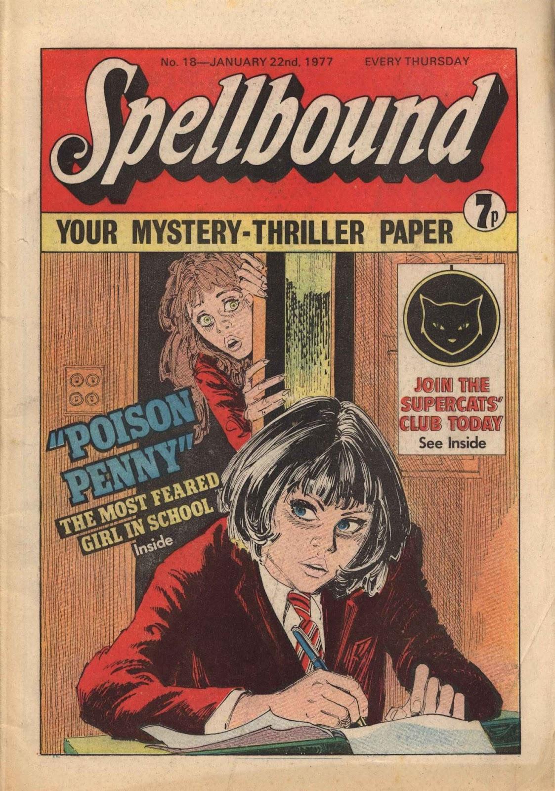 Spellbound (1976) issue 18 - Page 1