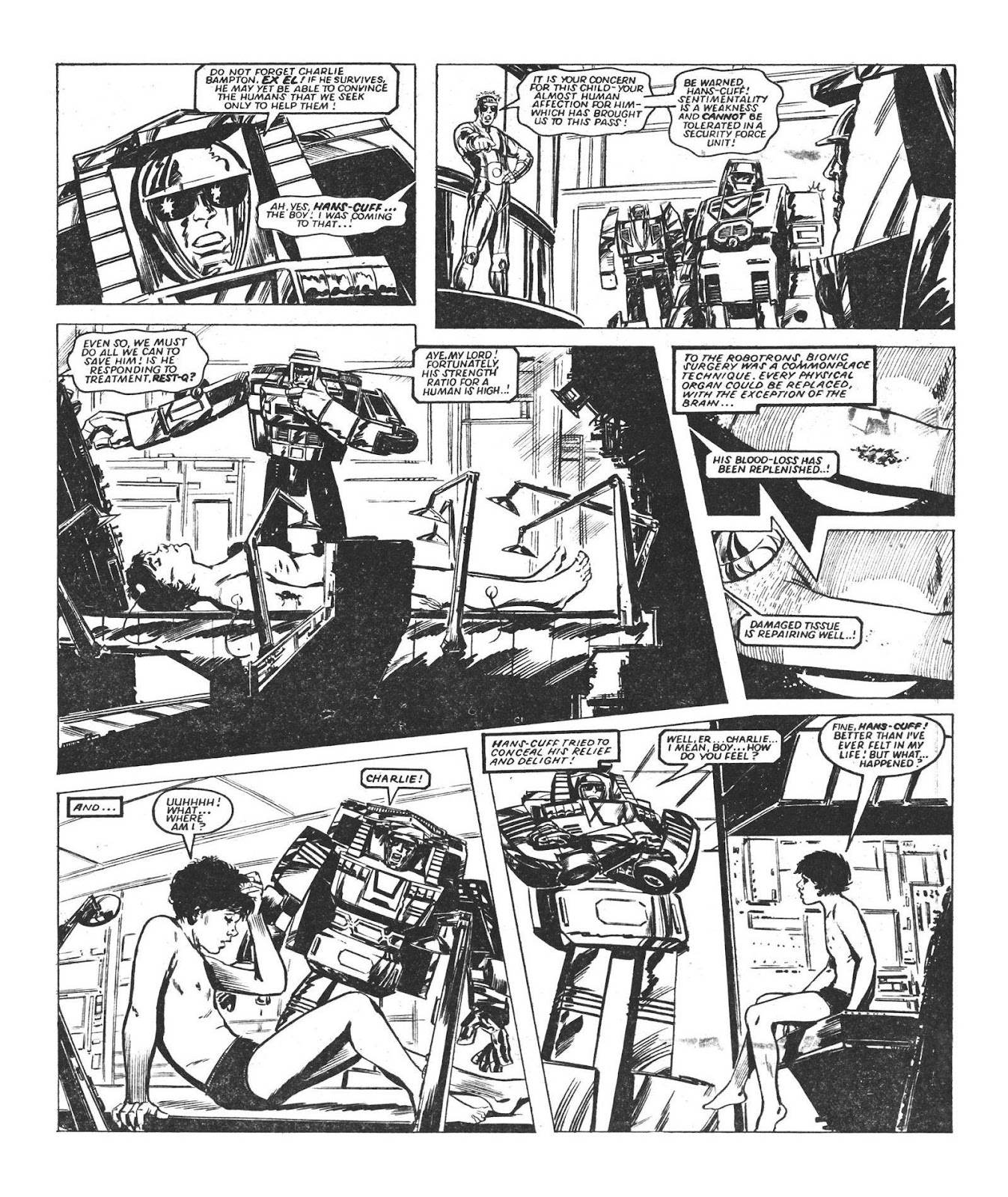 Read online Robo Machines comic -  Issue # TPB - 43