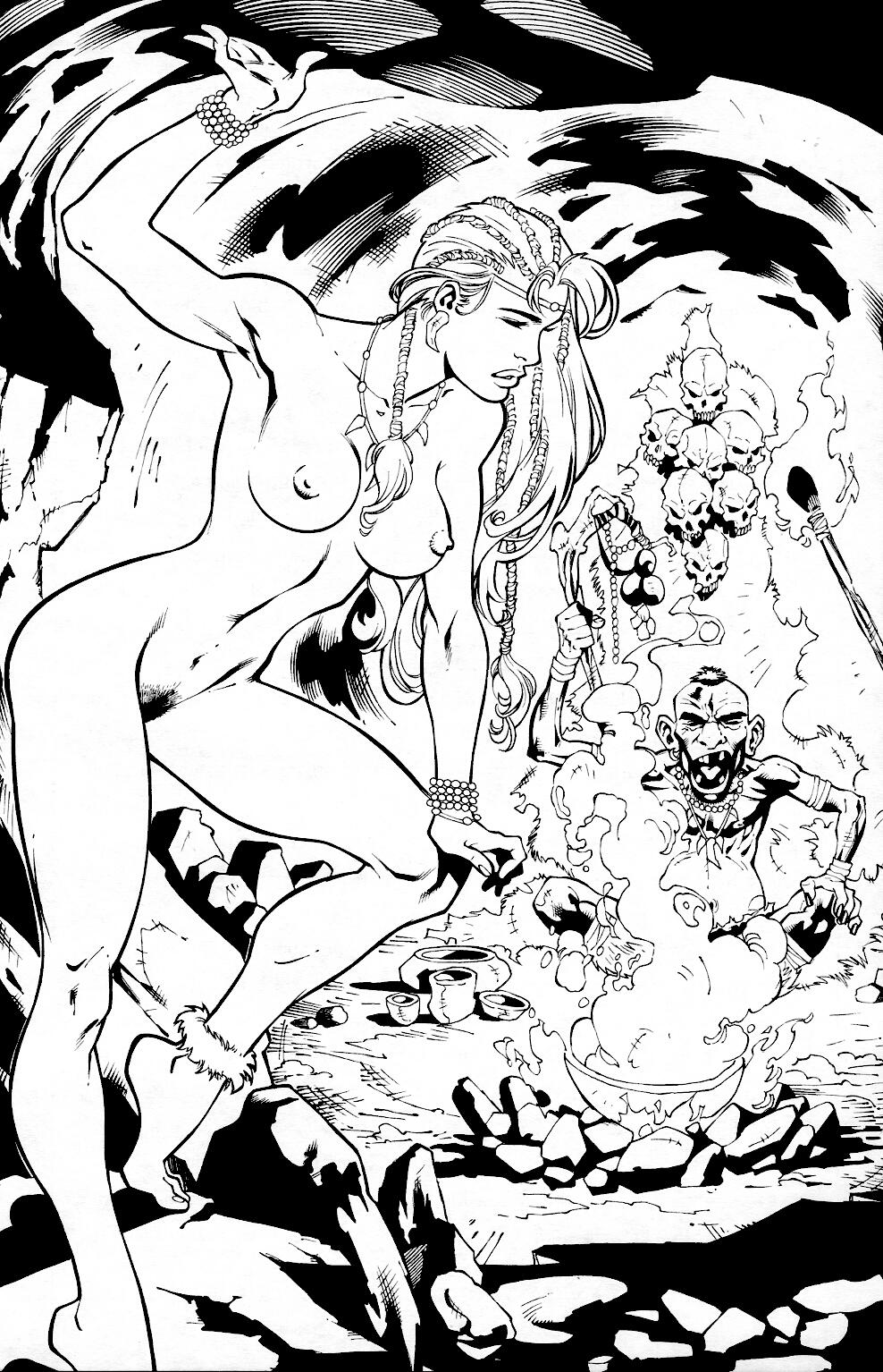 Read online Jungle Fantasy (2002) comic -  Issue #2 - 21
