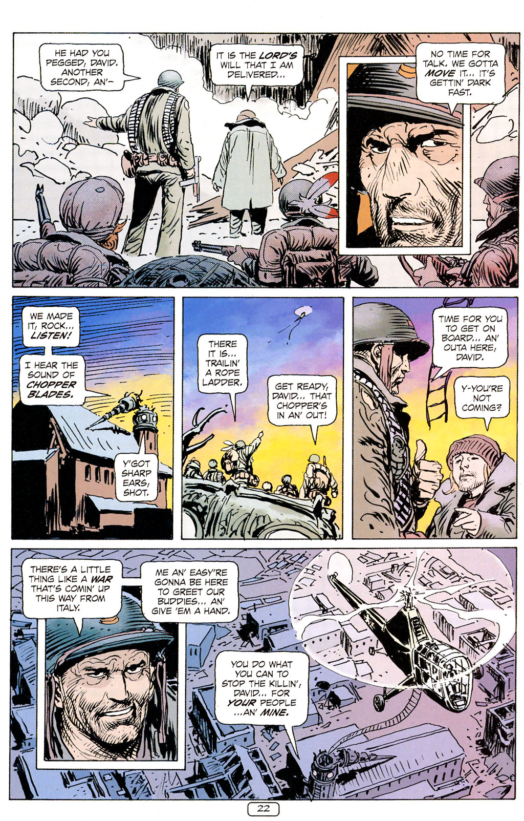 Read online Sgt. Rock: The Prophecy comic -  Issue #6 - 22