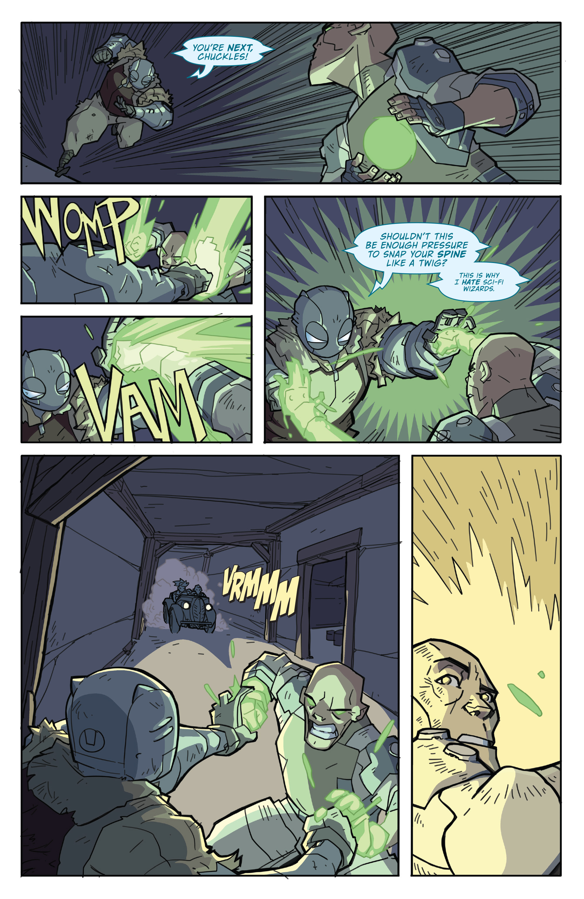 Read online Atomic Robo and the Temple of Od comic -  Issue #2 - 21