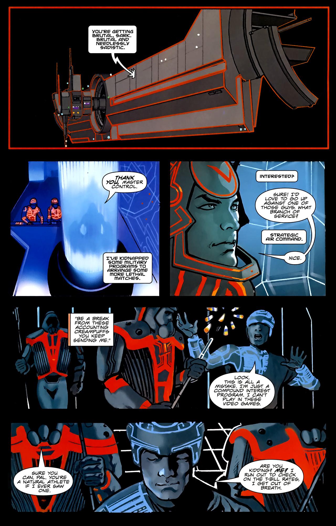 Read online TRON: Original Movie Adaptation comic -  Issue #1 - 8