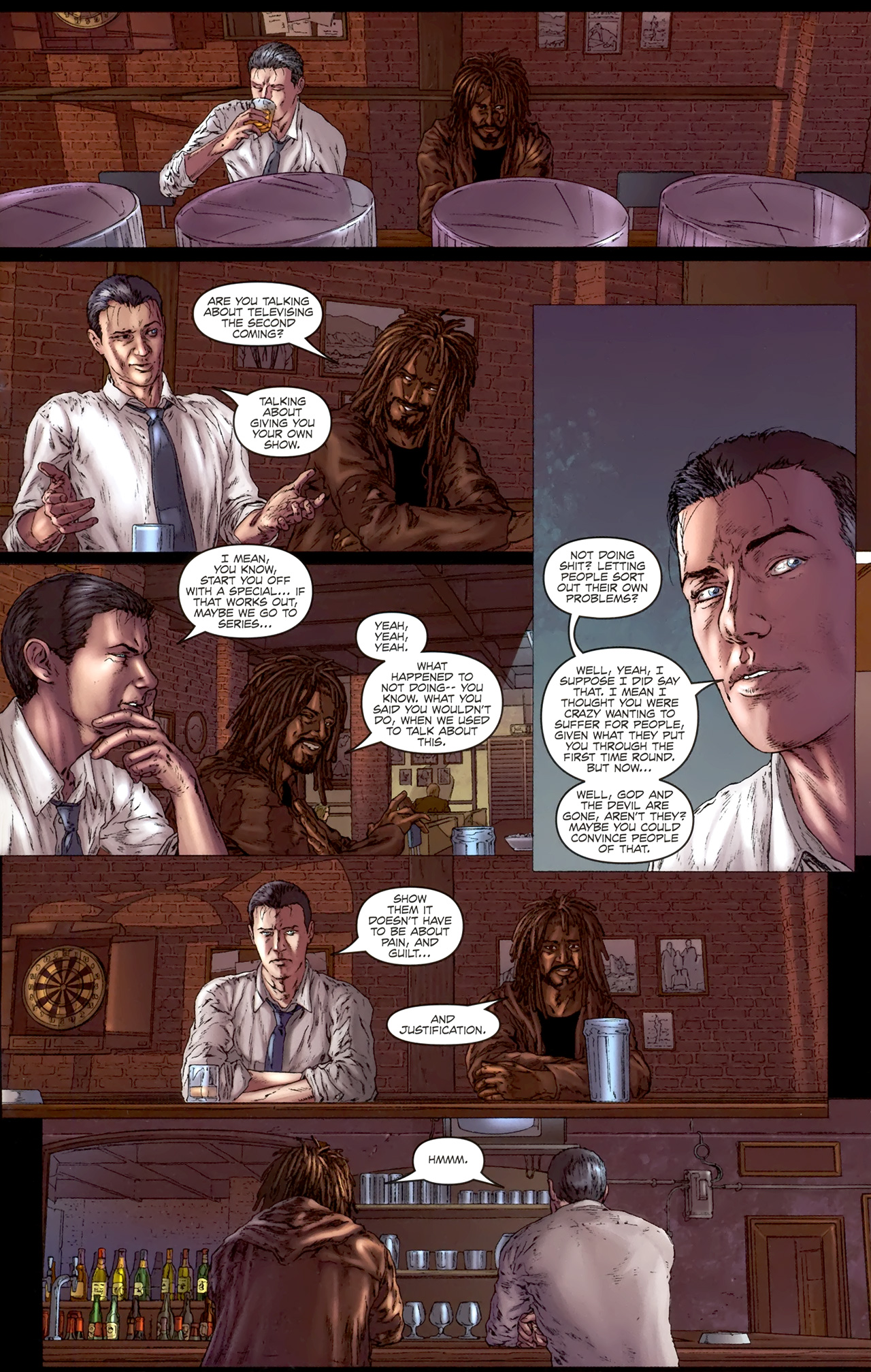 Read online Chronicles of Wormwood: The Last Battle comic -  Issue #4 - 8