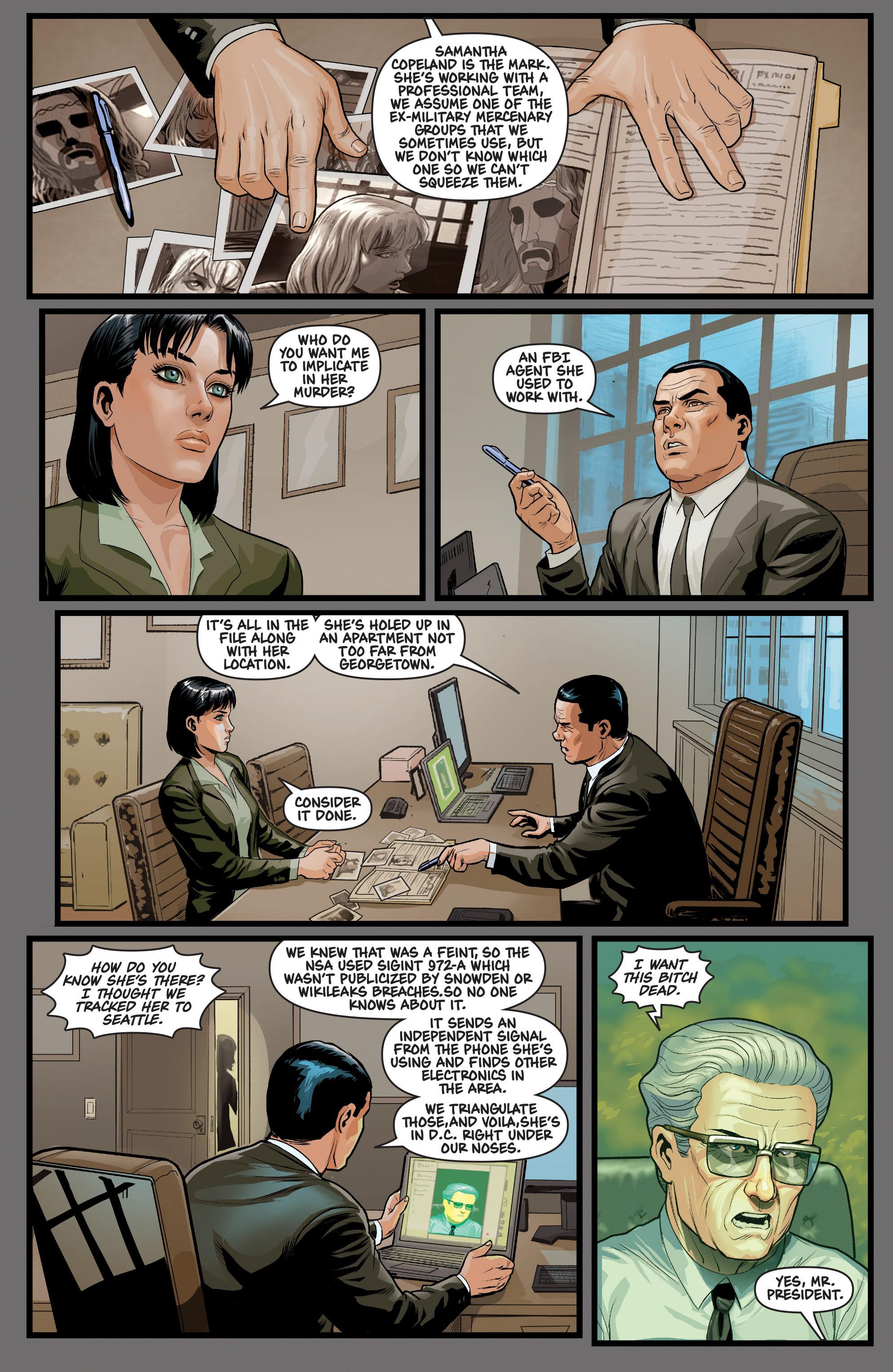 Read online Samaritan: Vertias comic -  Issue #1 - 24
