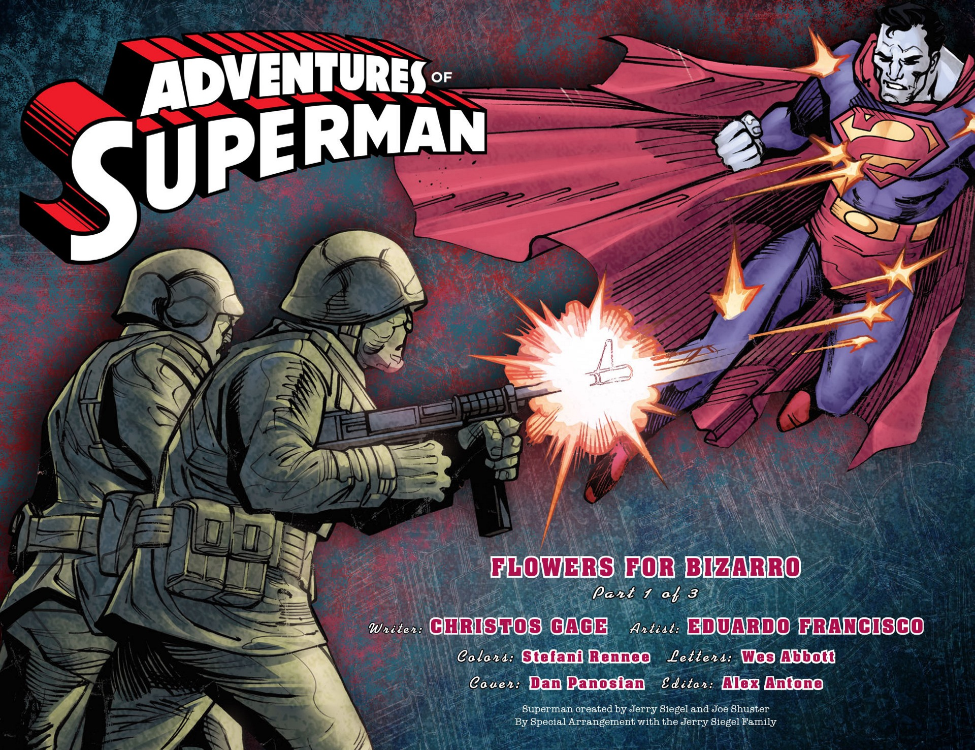 Read online Adventures of Superman [I] comic -  Issue #25 - 2