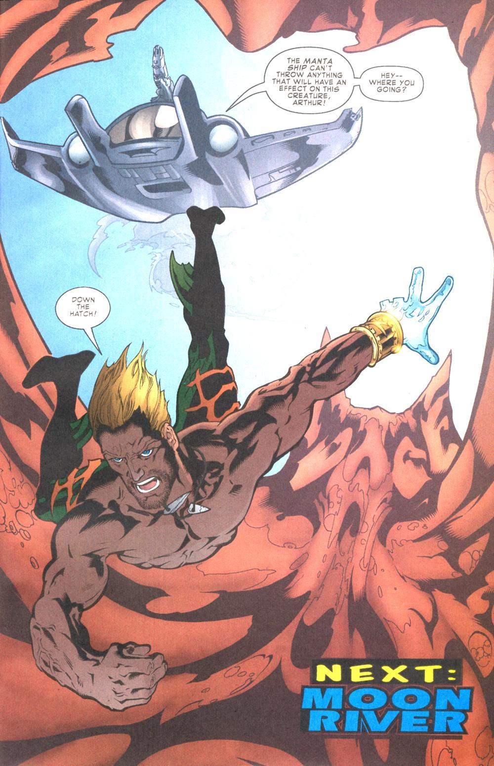 Read online Aquaman (2003) comic -  Issue #9 - 24