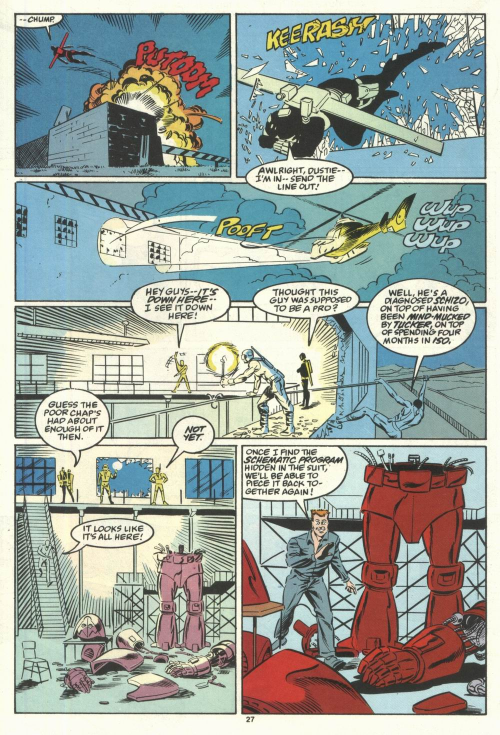 Read online Justice (1986) comic -  Issue #28 - 29